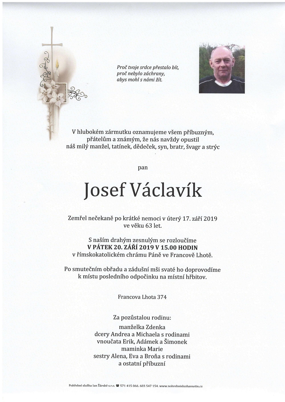 Josef Václavík