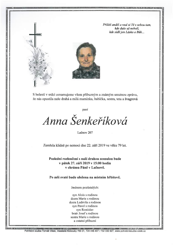 Anna Šenkeříková
