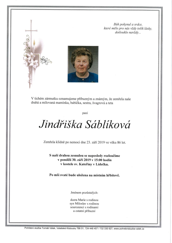Jindřiška Sáblíková