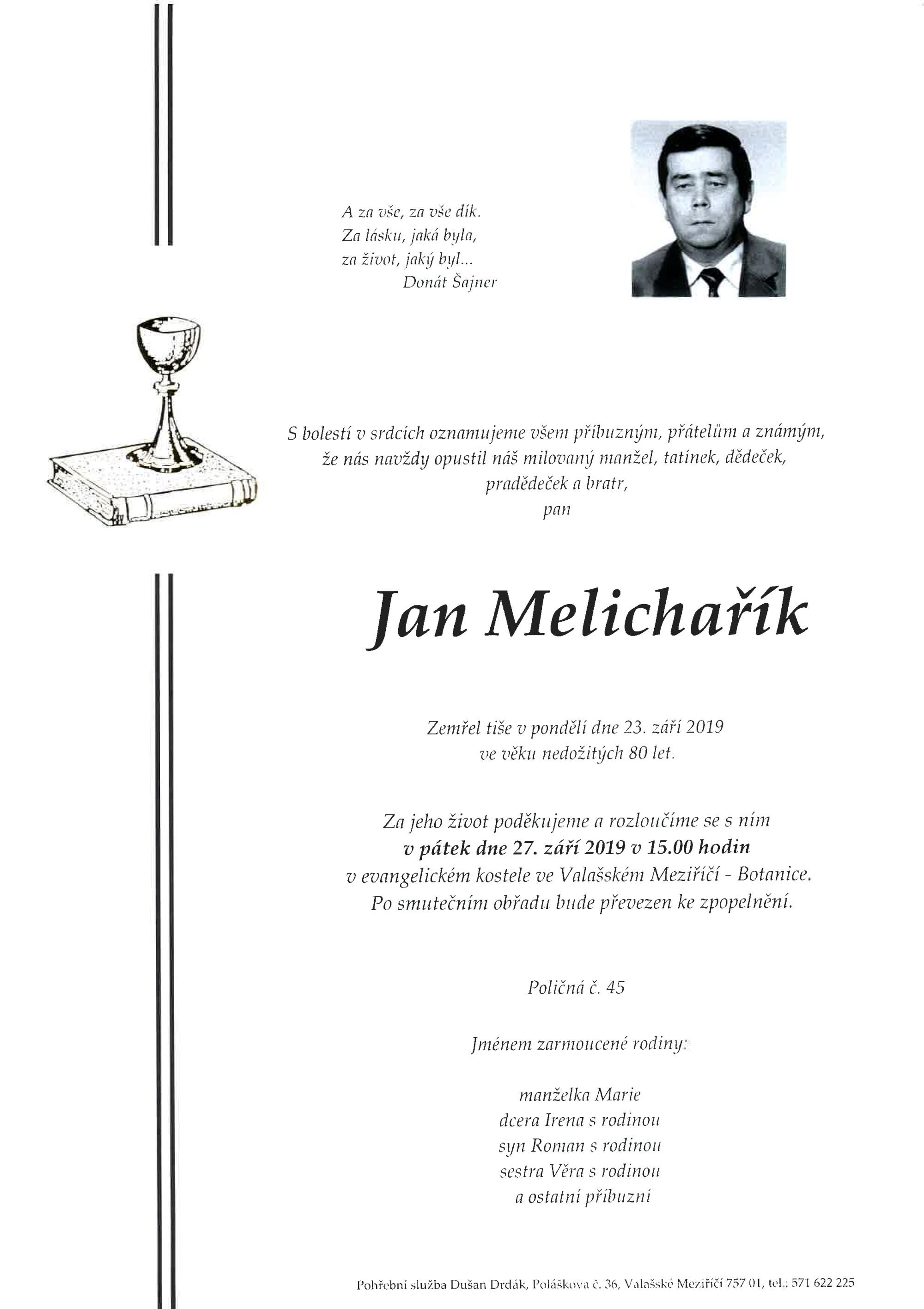 Jan Melichařík