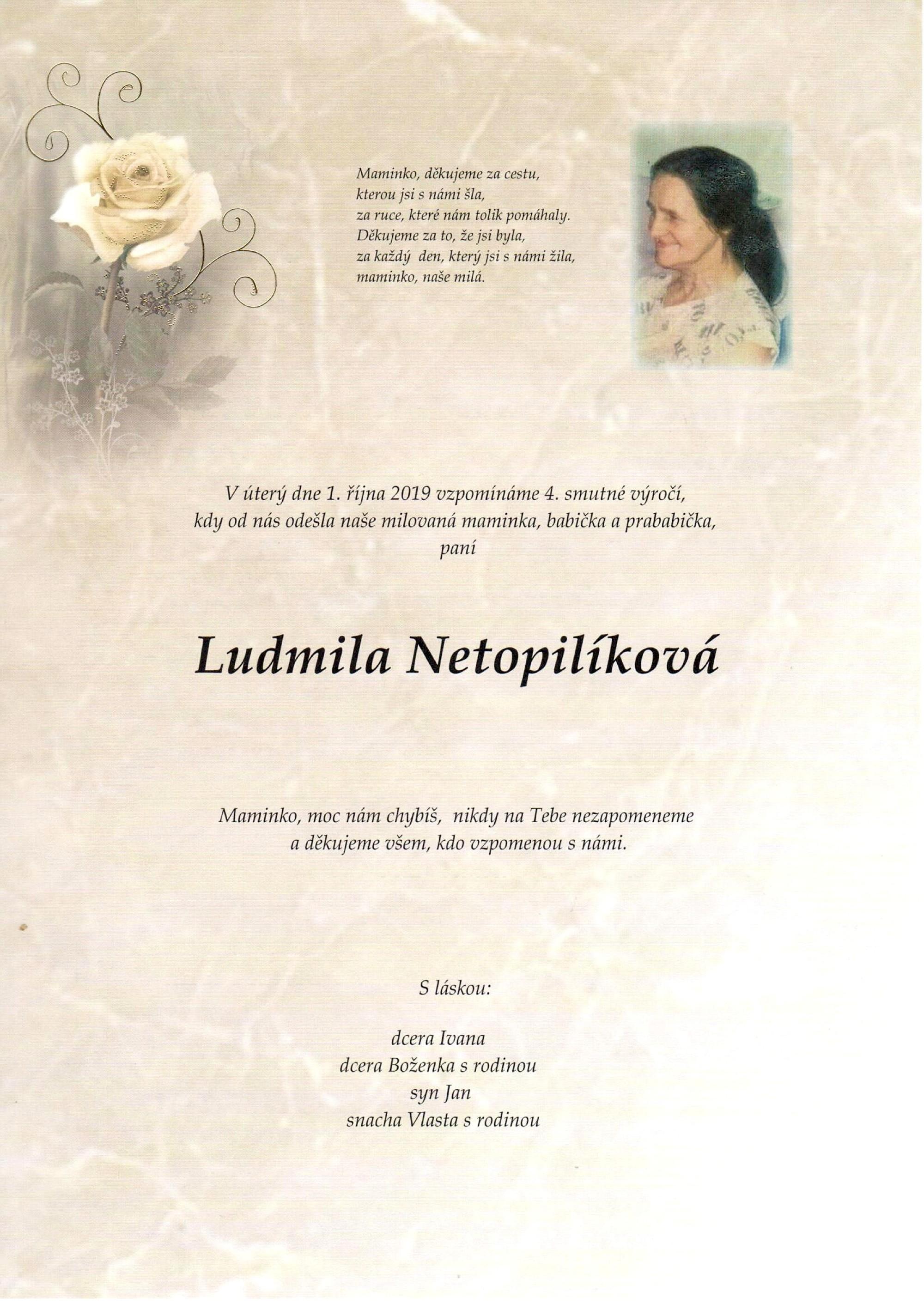 Ludmila Netopilíková