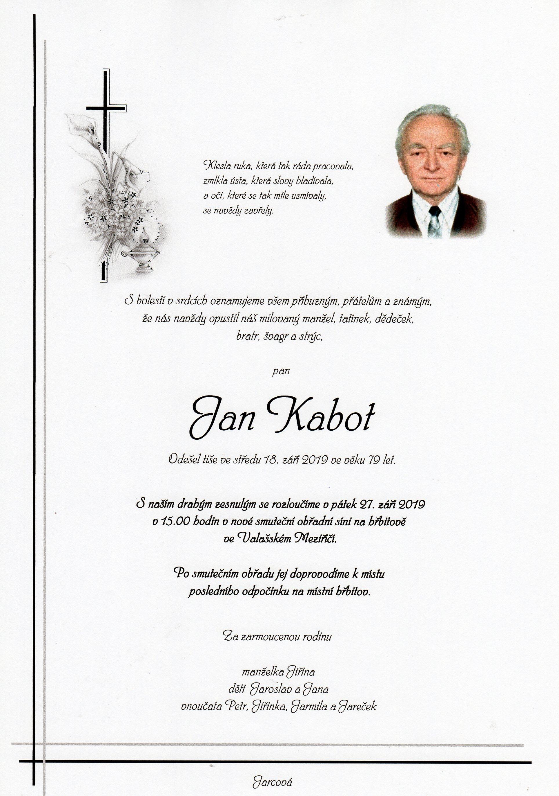 Jan Kabot
