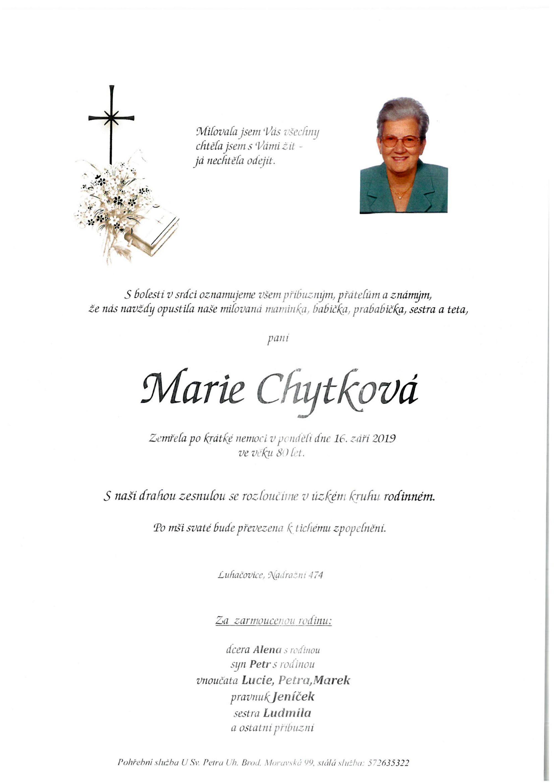 Marie Chytková