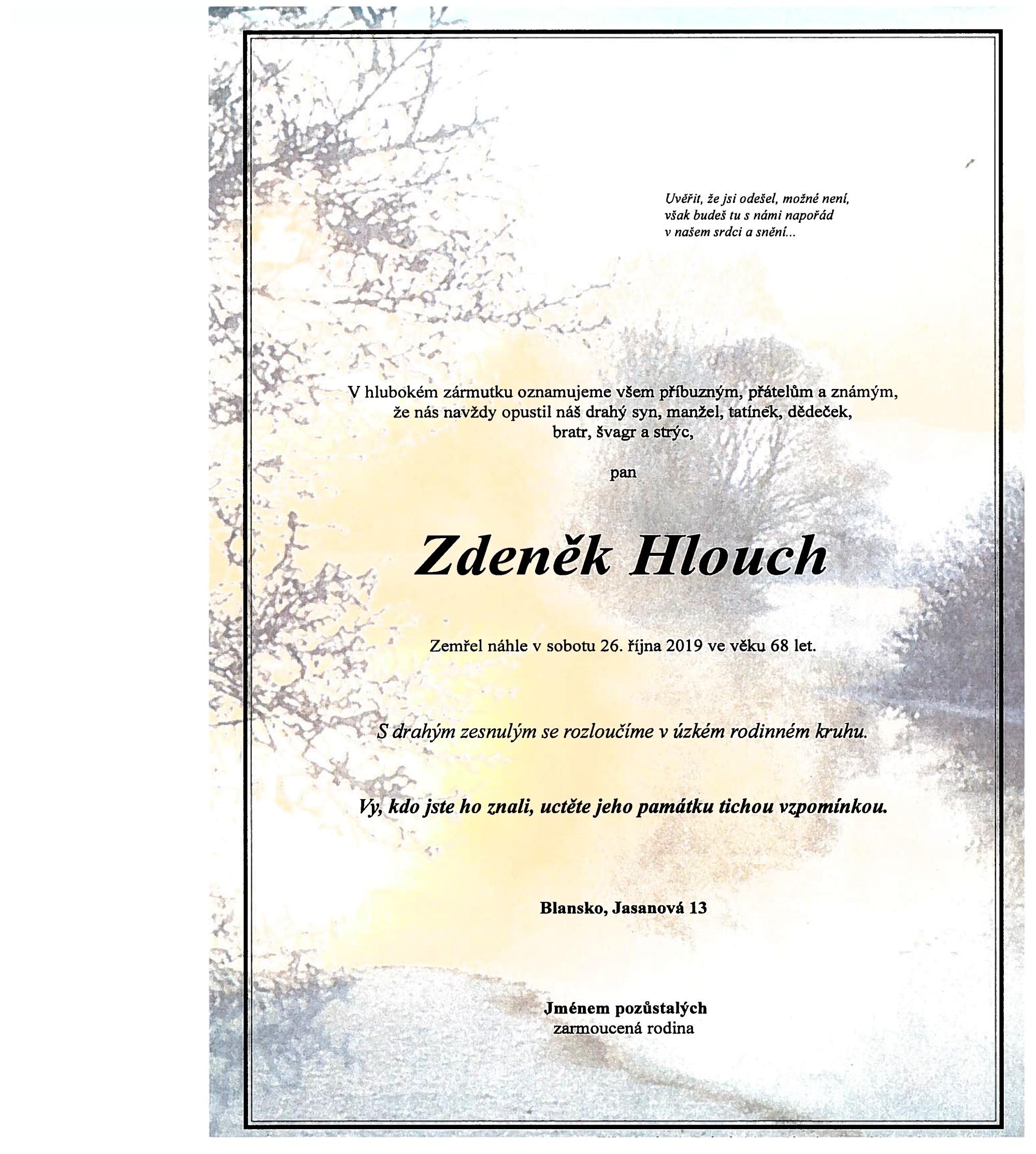 Zdeněk Hlouch