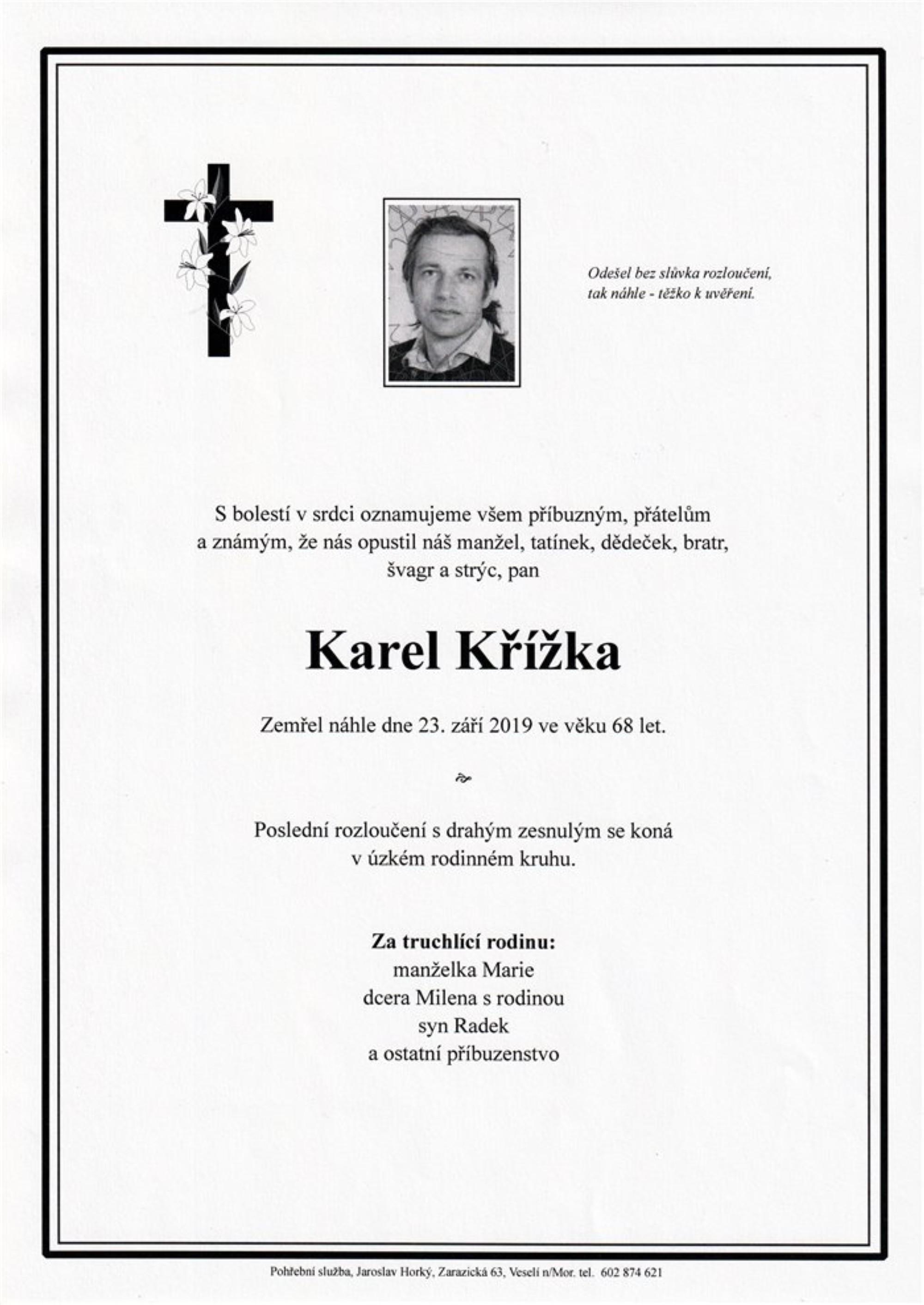 Karel Křížka