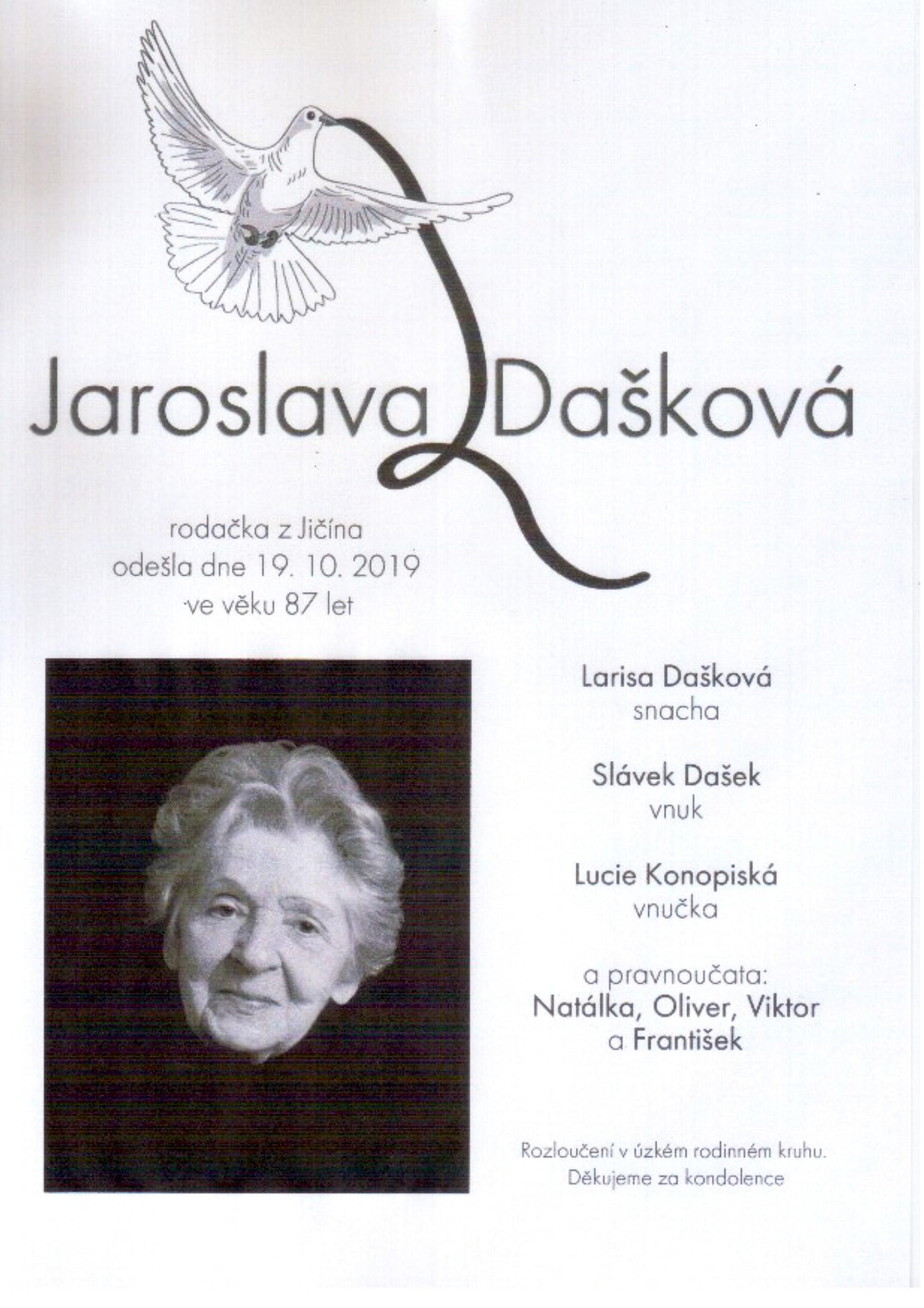 Jaroslava Dašková