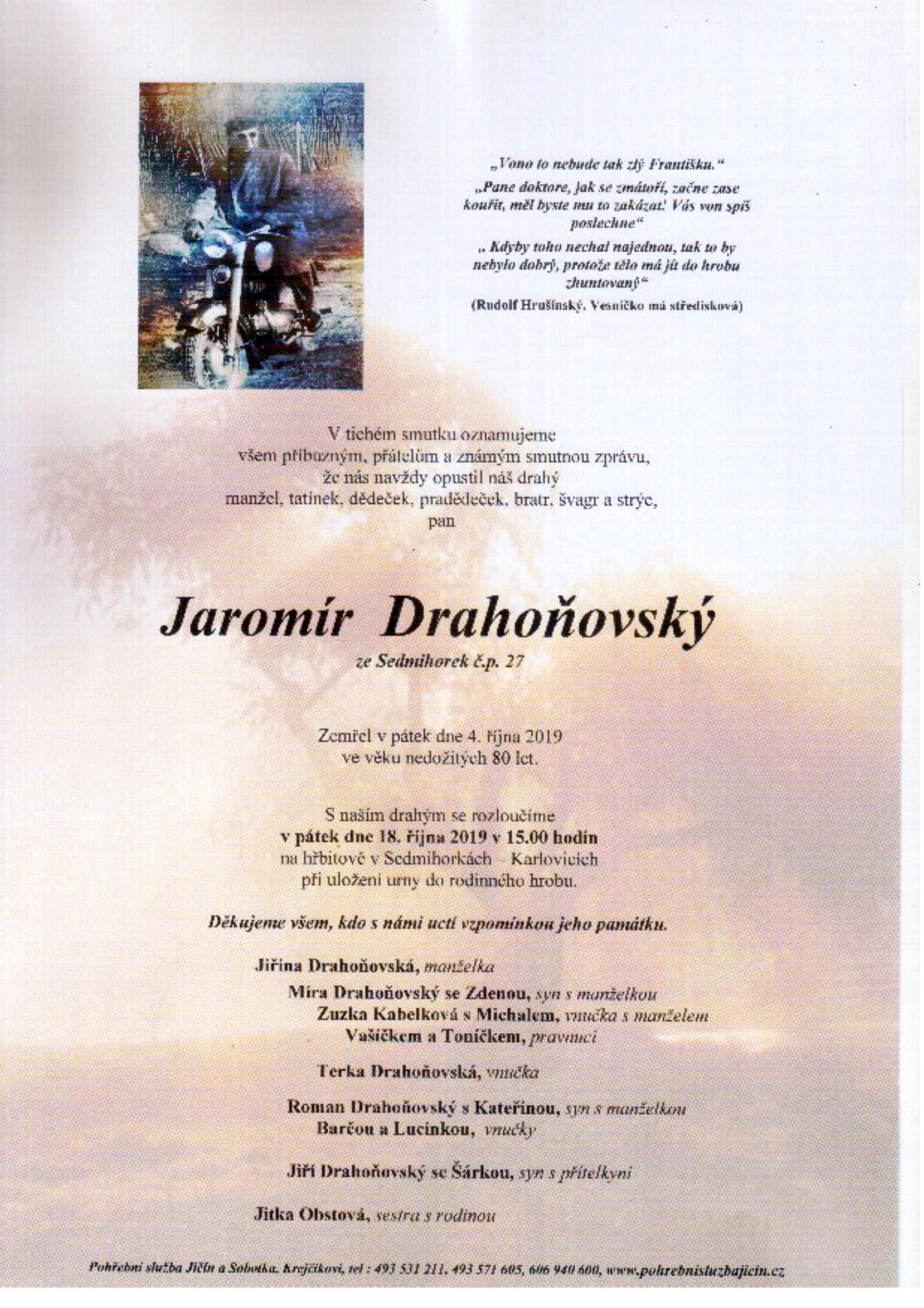 Jaromír Drahoňovský