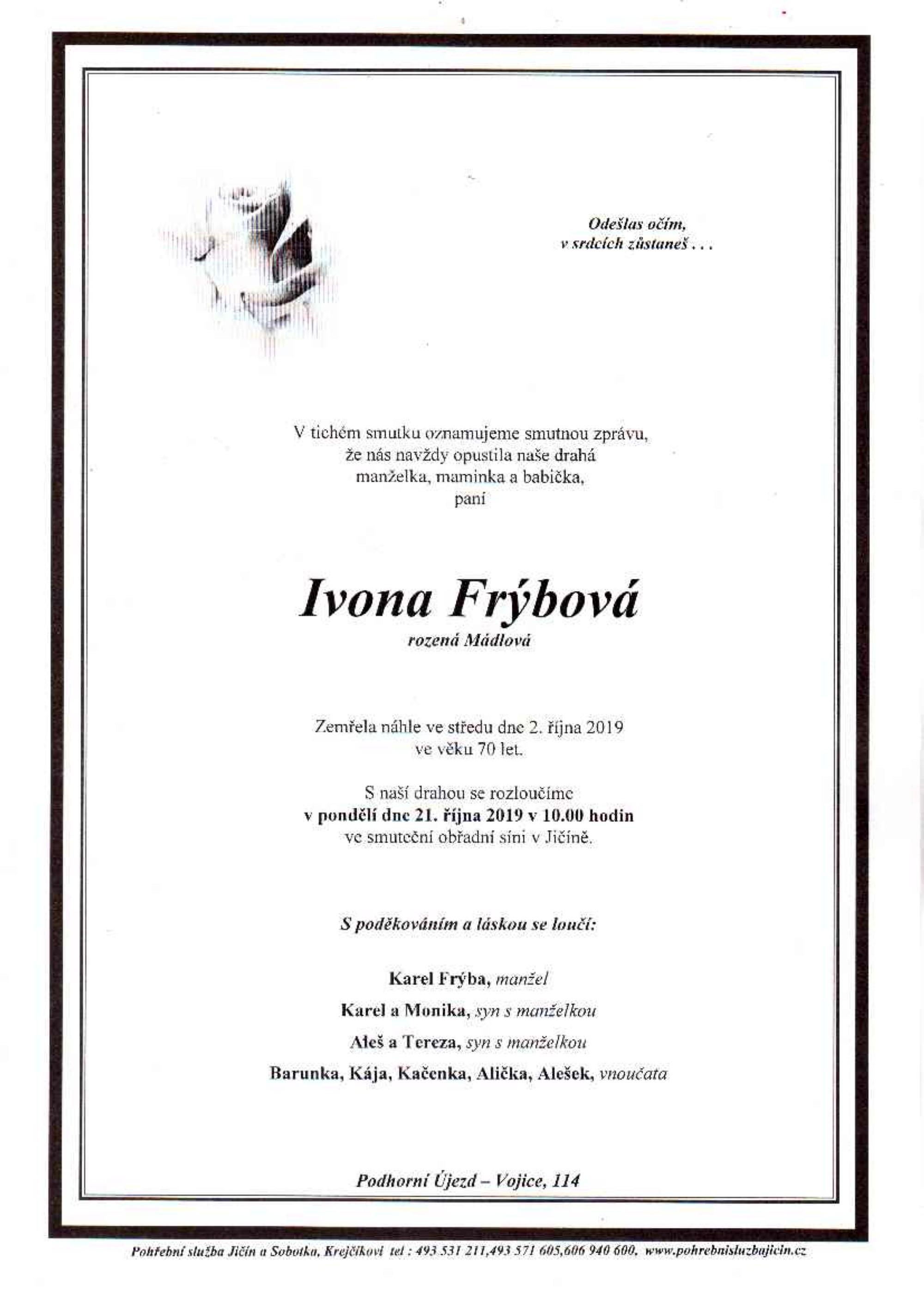 Ivona Frýbová