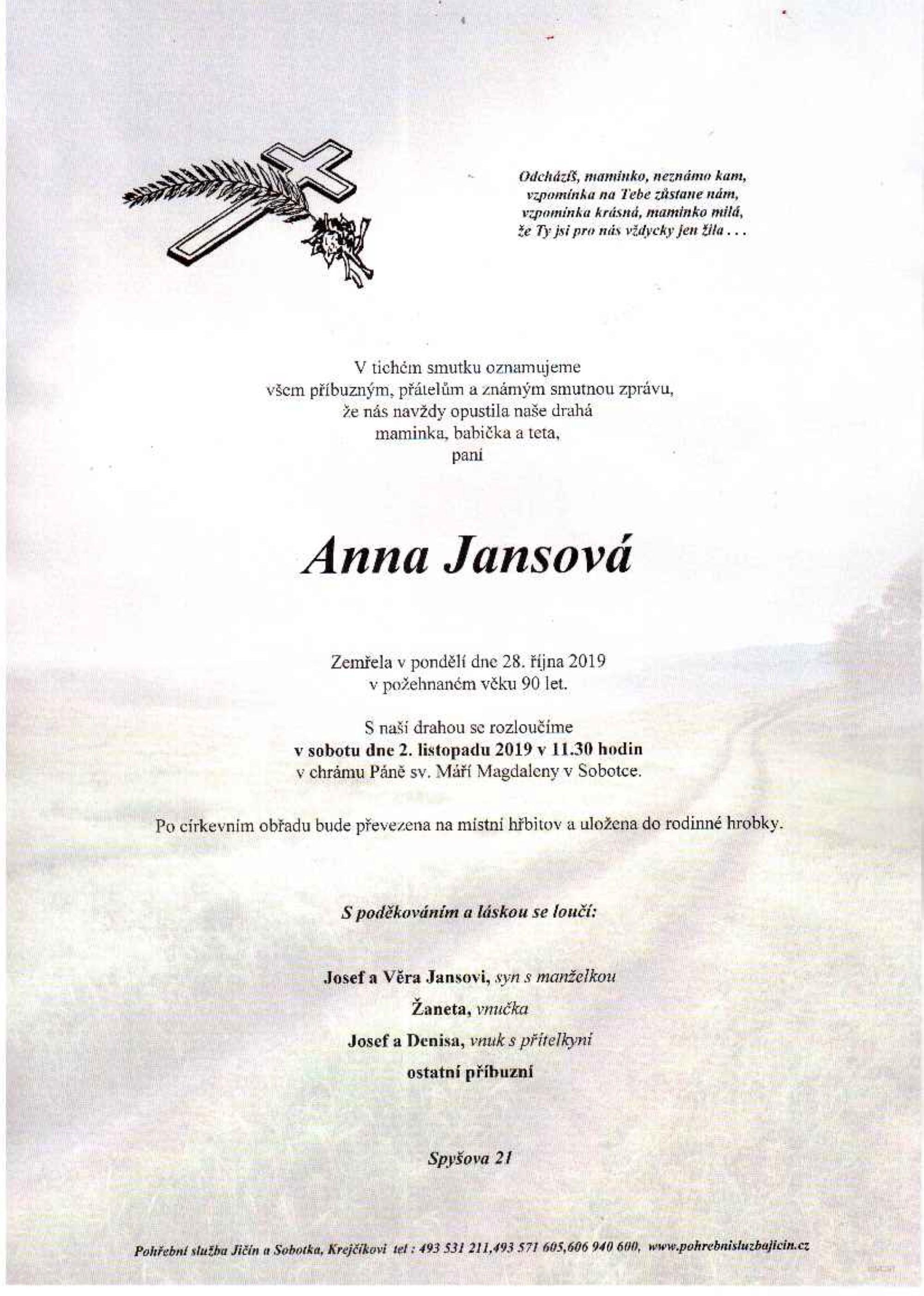Anna Jansová