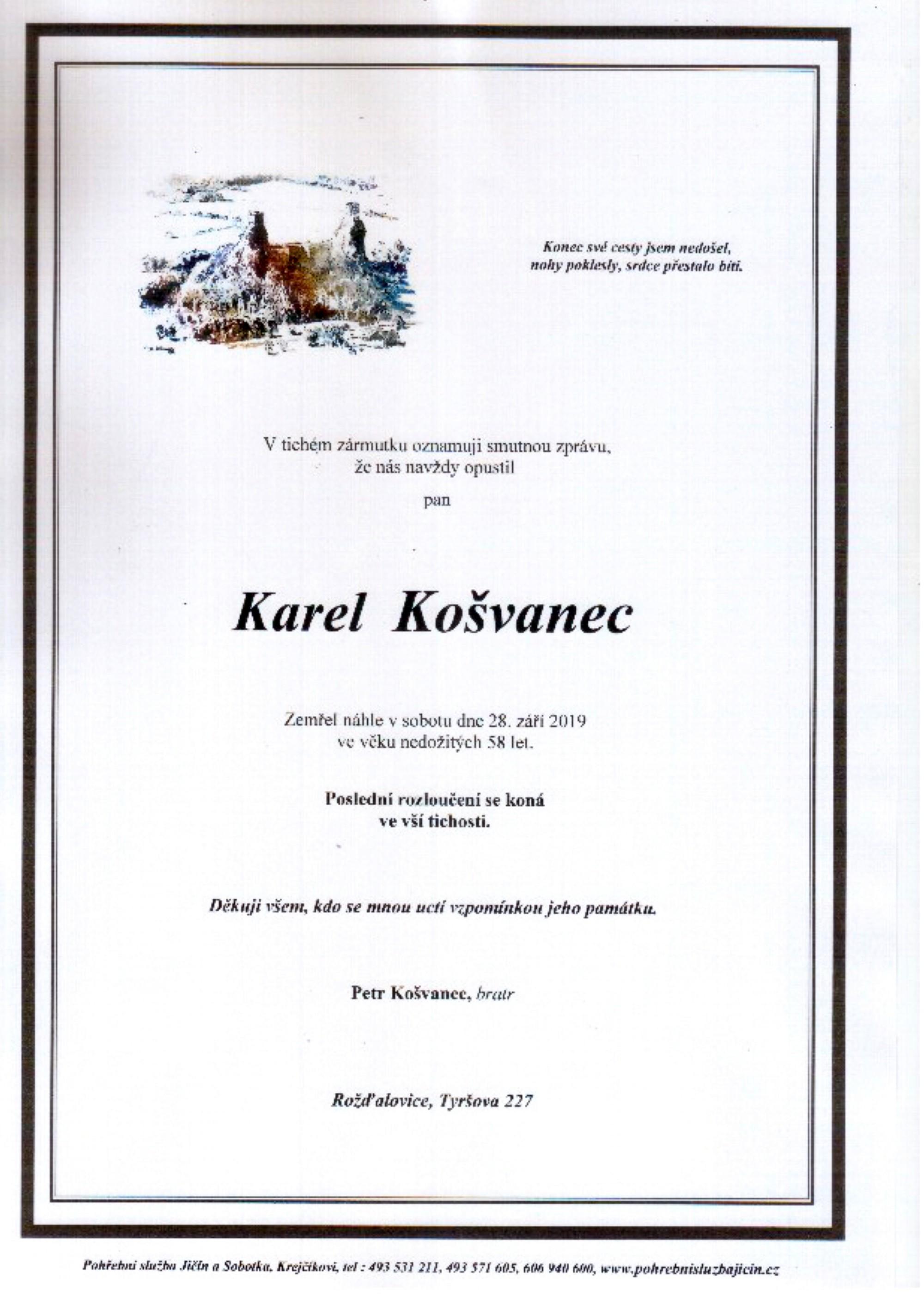 Karel Košvanec