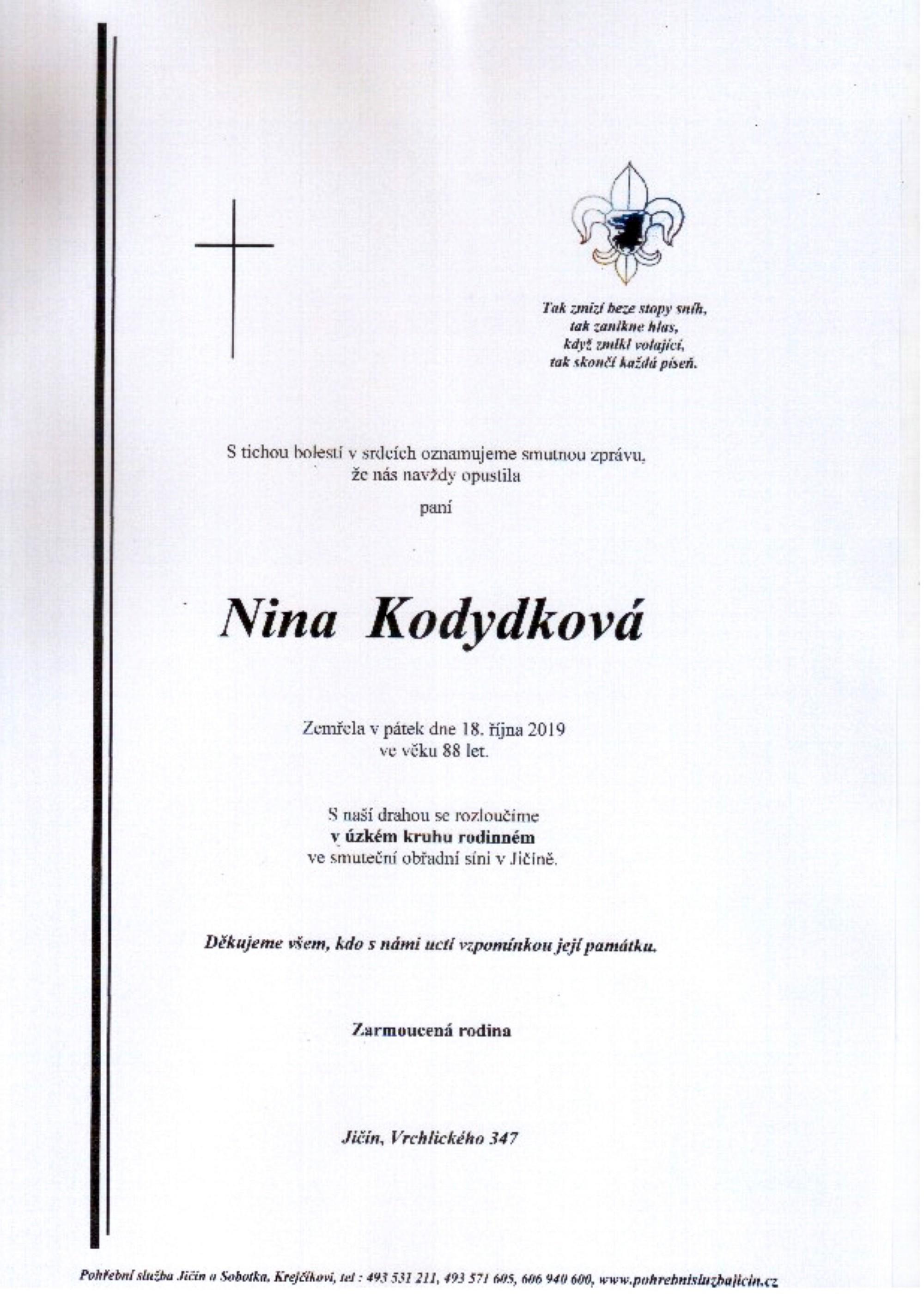 Nina Kodydková