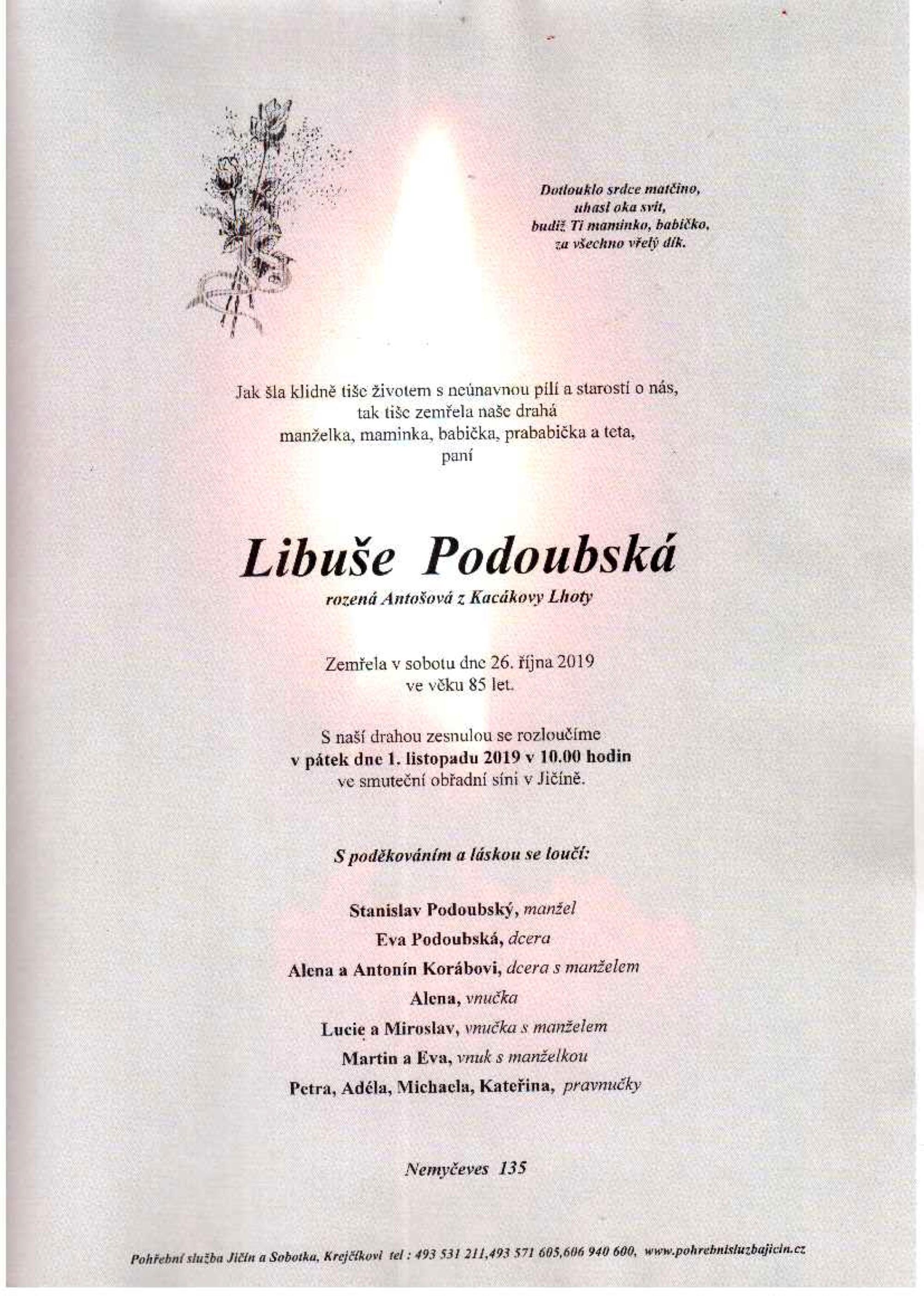 Libuše Podoubská