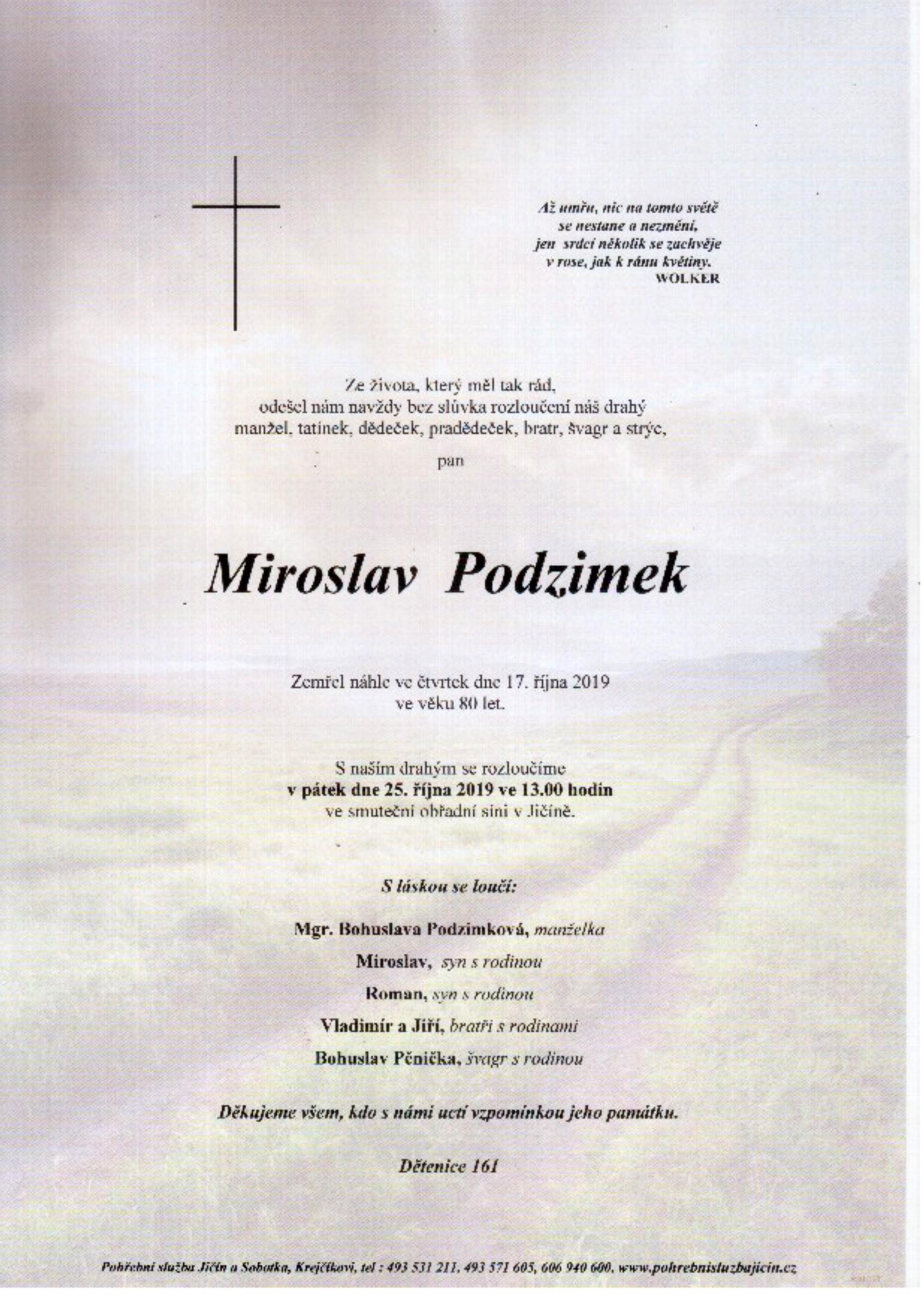 Miroslav Podzimek