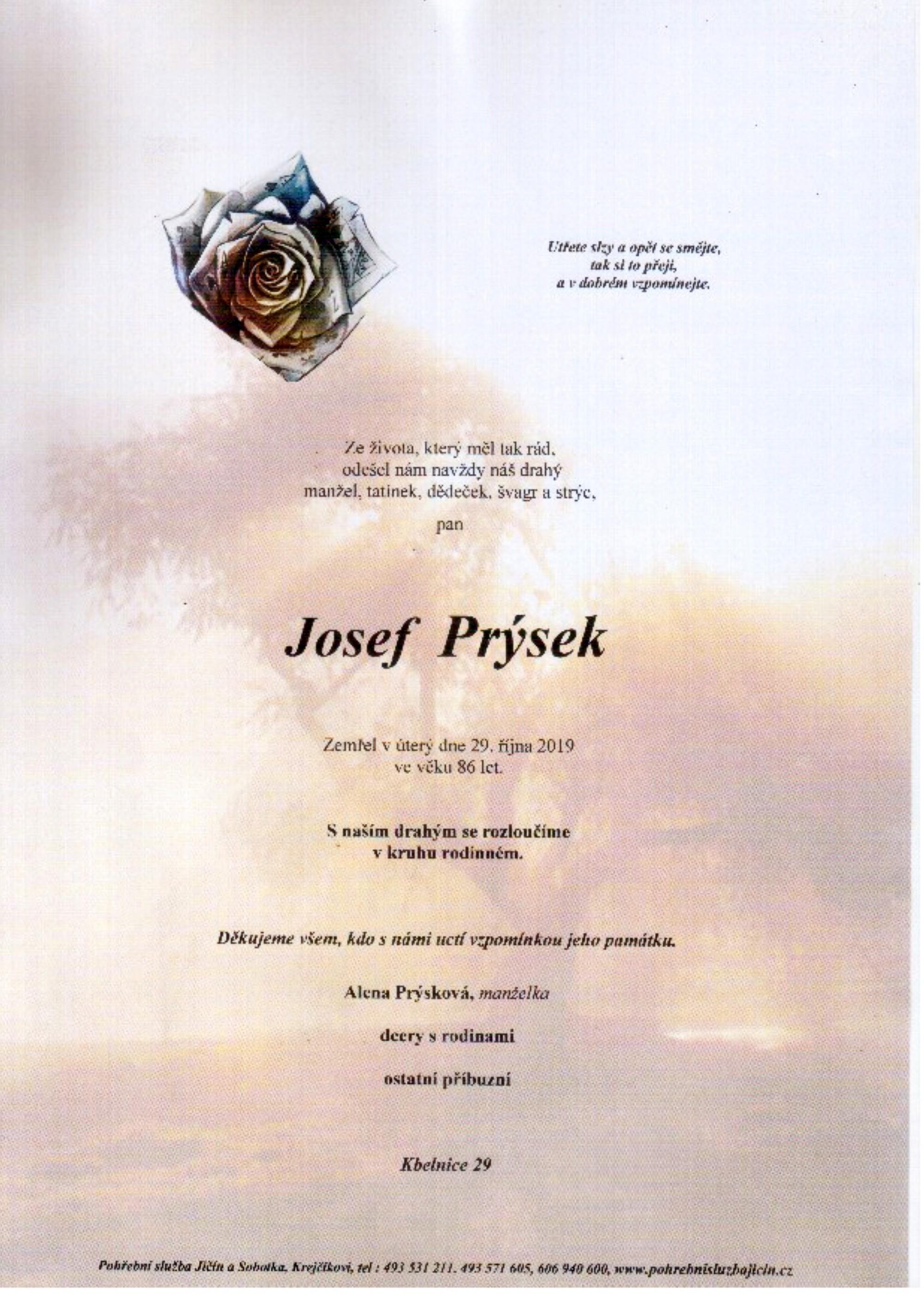 Josef Prýsek