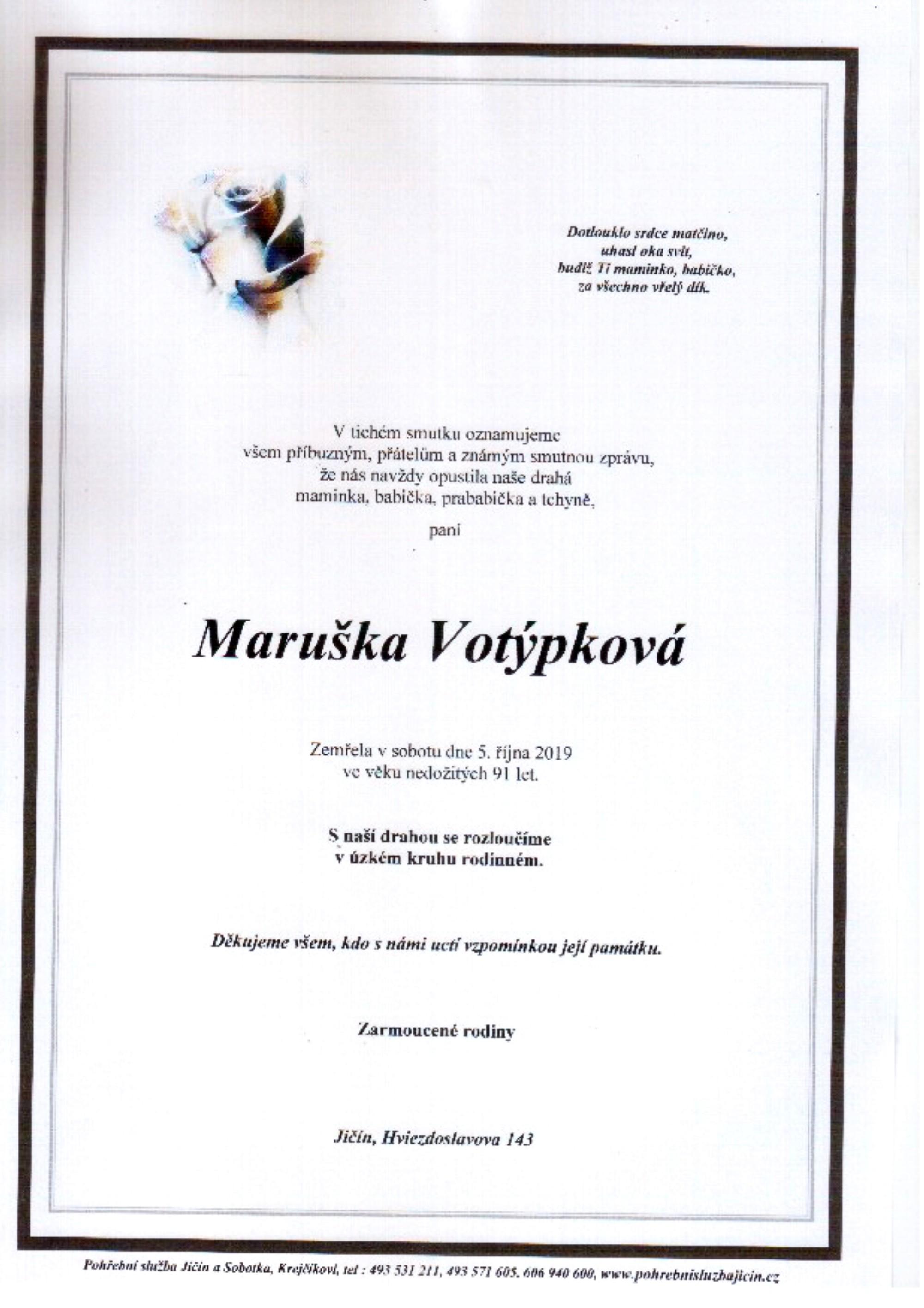 Maruška Votýpková