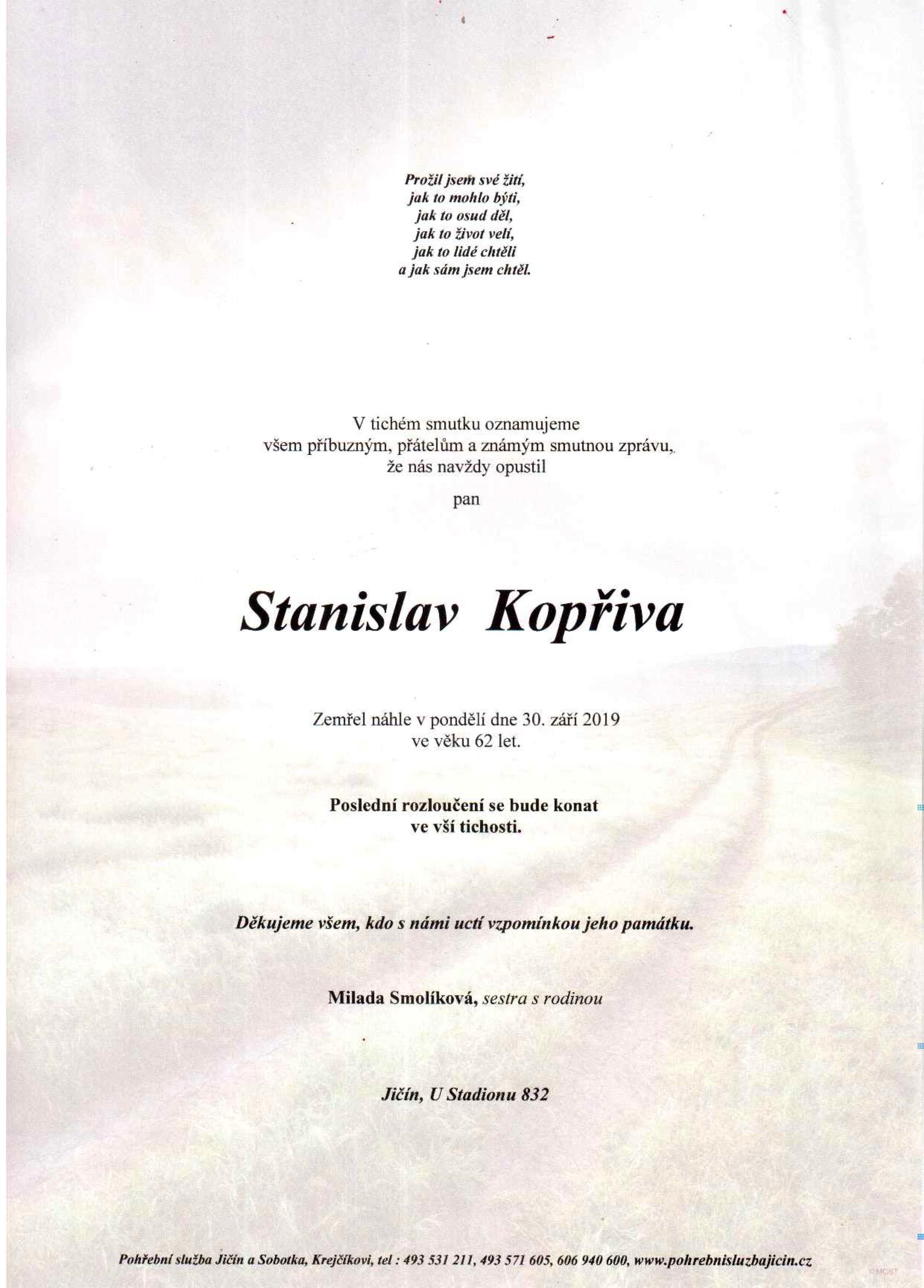 Stanislav Kopřiva