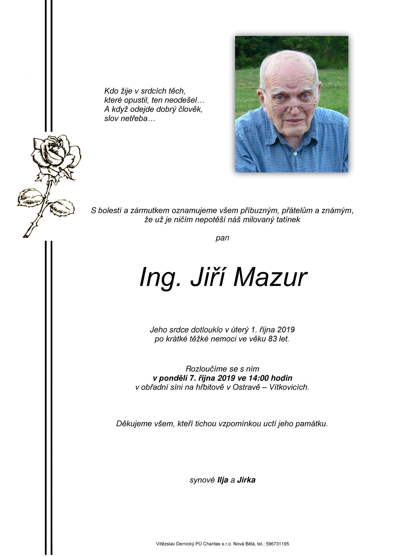 Ing. Jiří Mazur