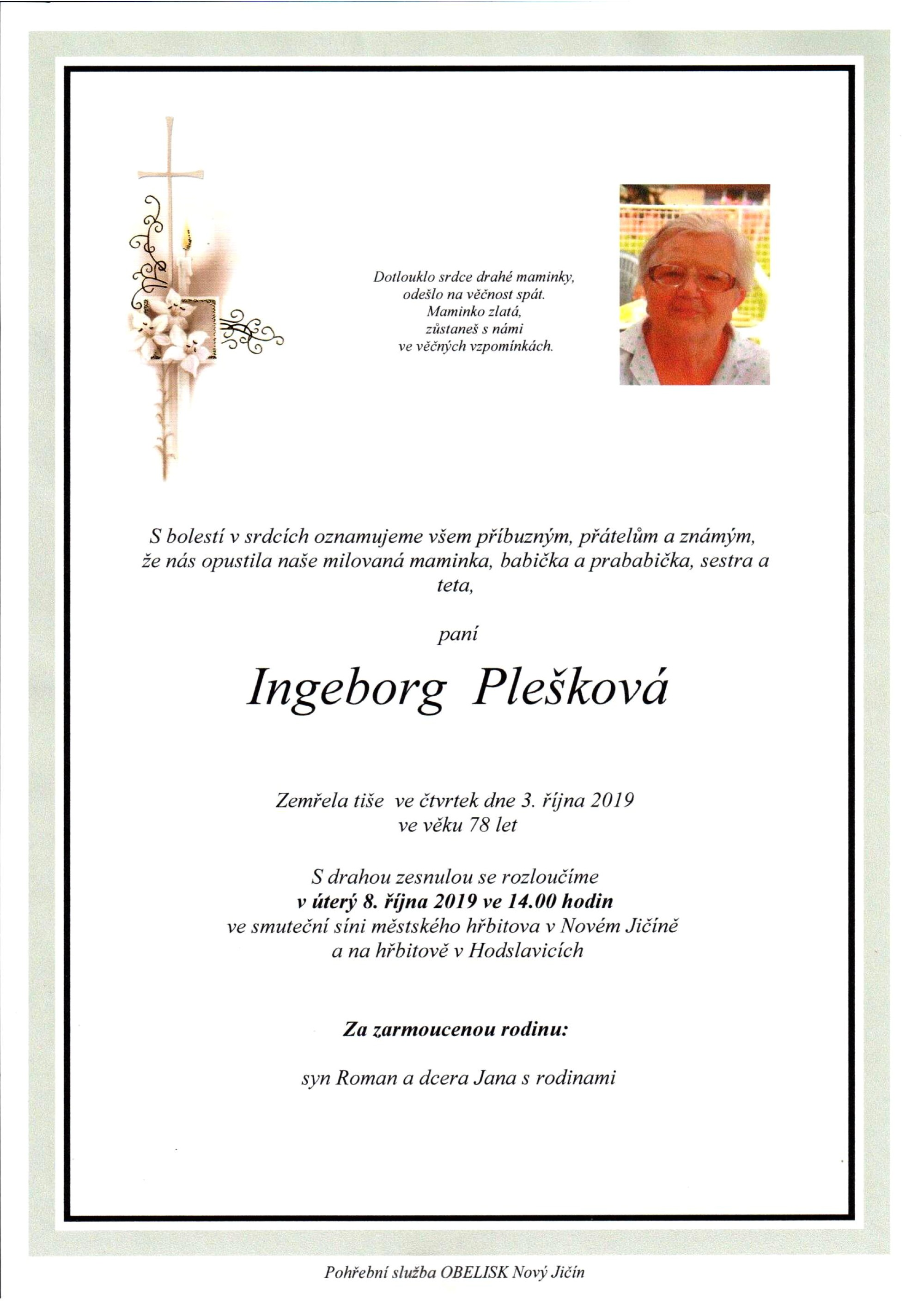 Ingeborg Plešková