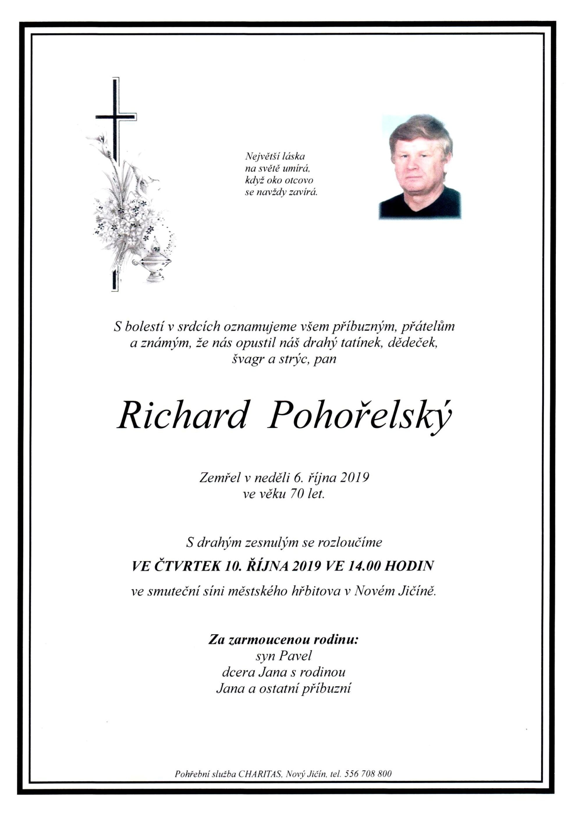 Richard Pohořelský