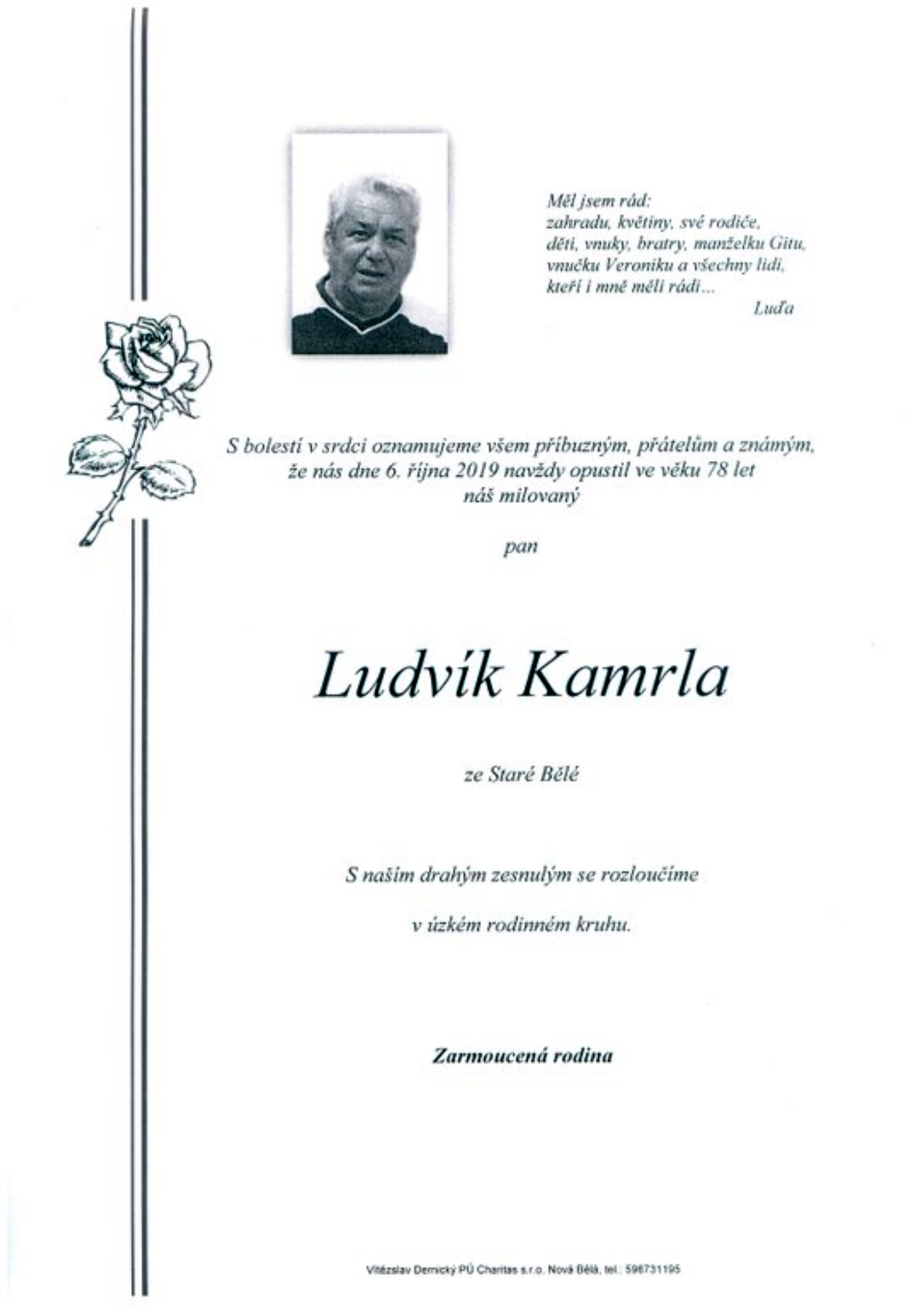 Ludvík Kamrla