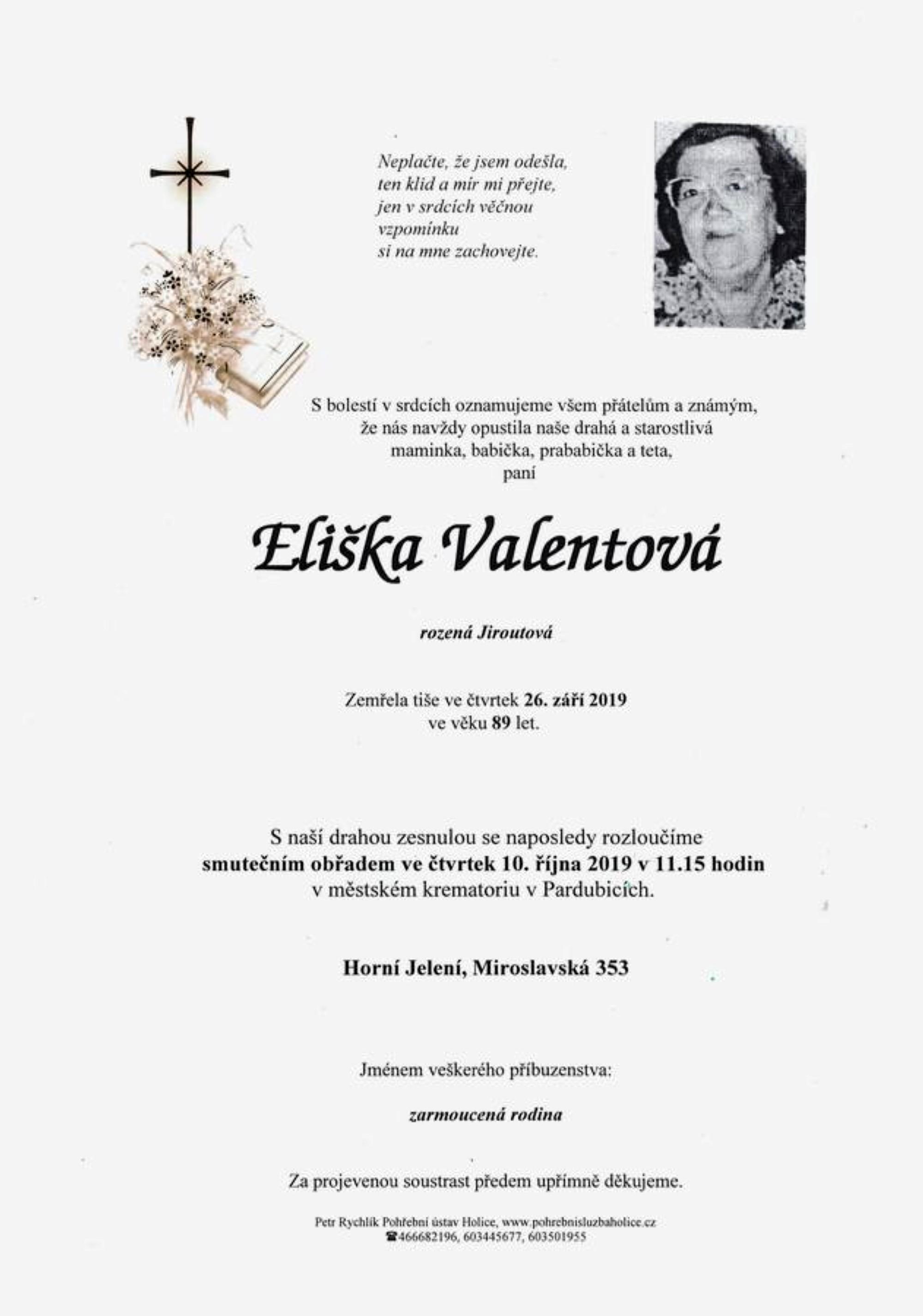Eliška Valentová