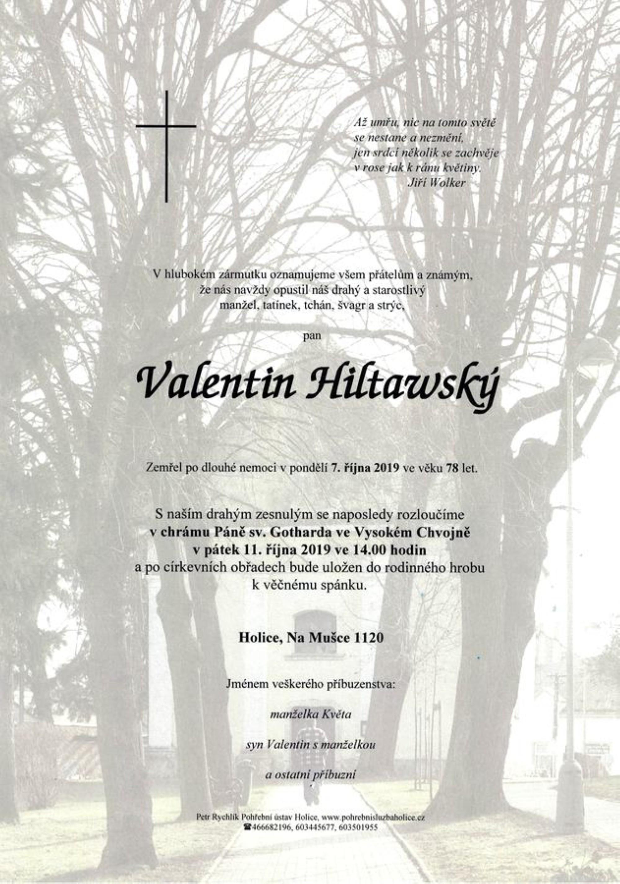 Valentin Hiltawský