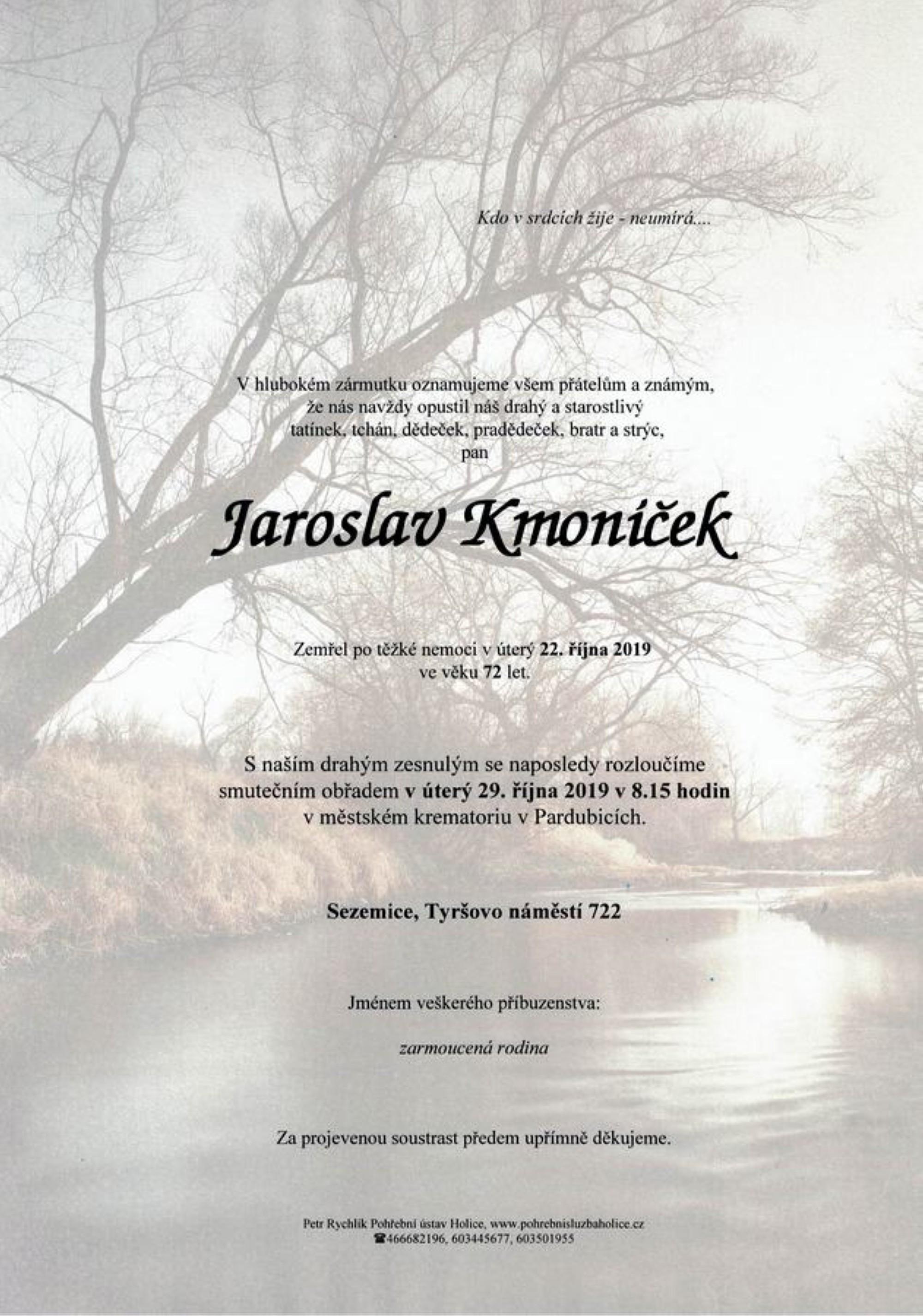 Jaroslav Kmoníček