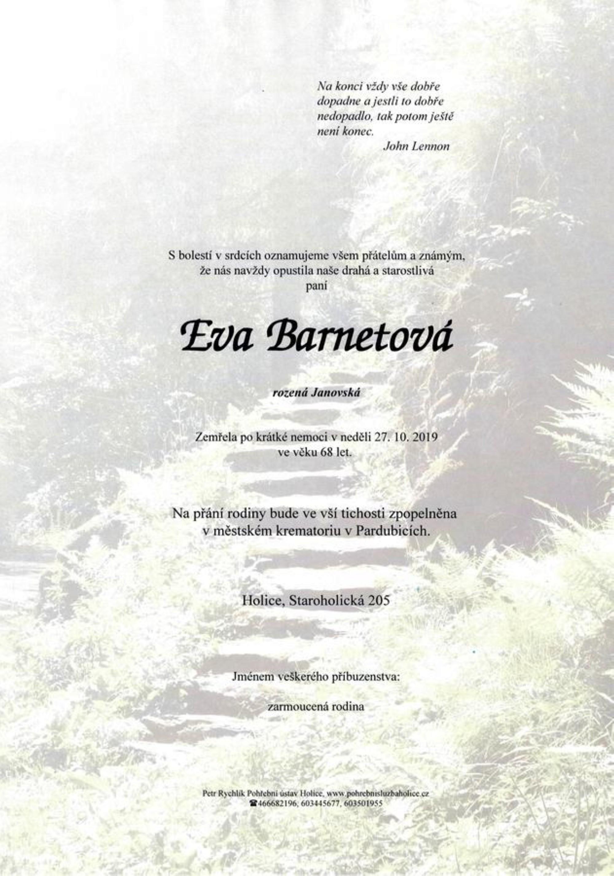 Eva Barnetová