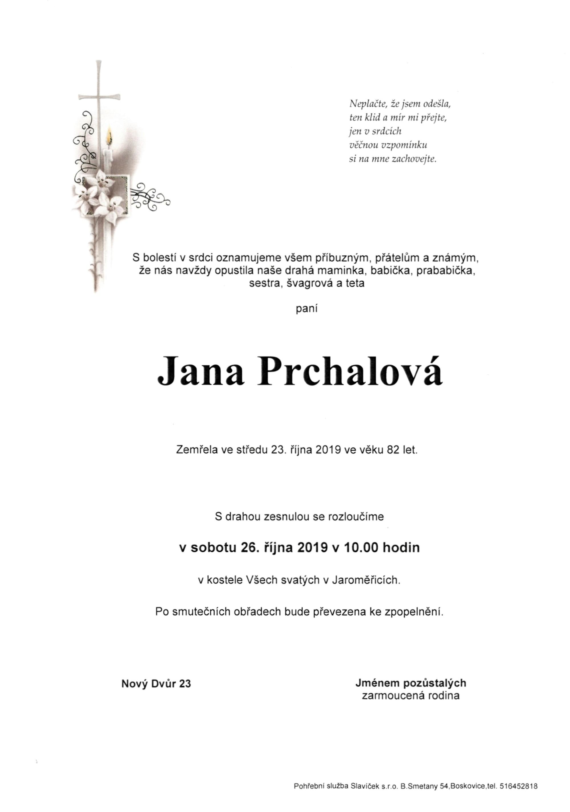 Jana Prchalová