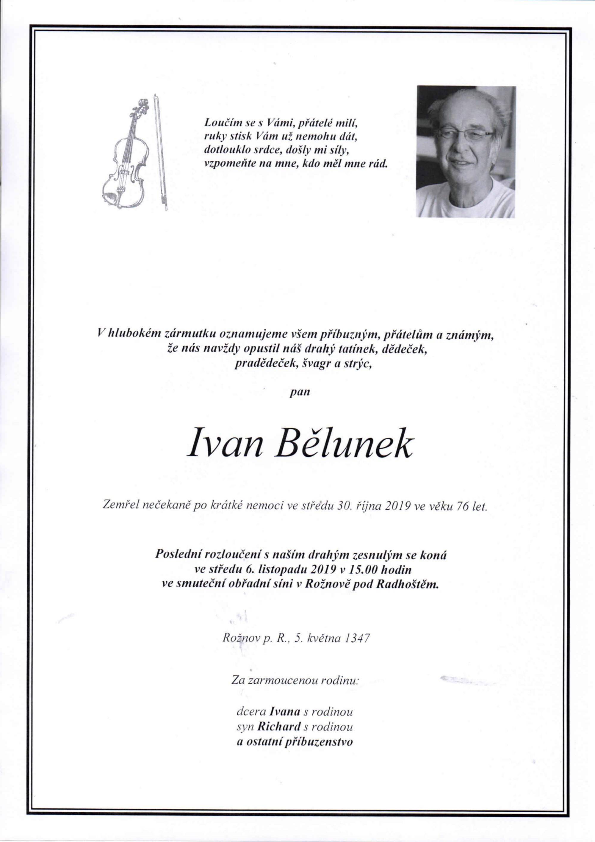Ivan Bělunek