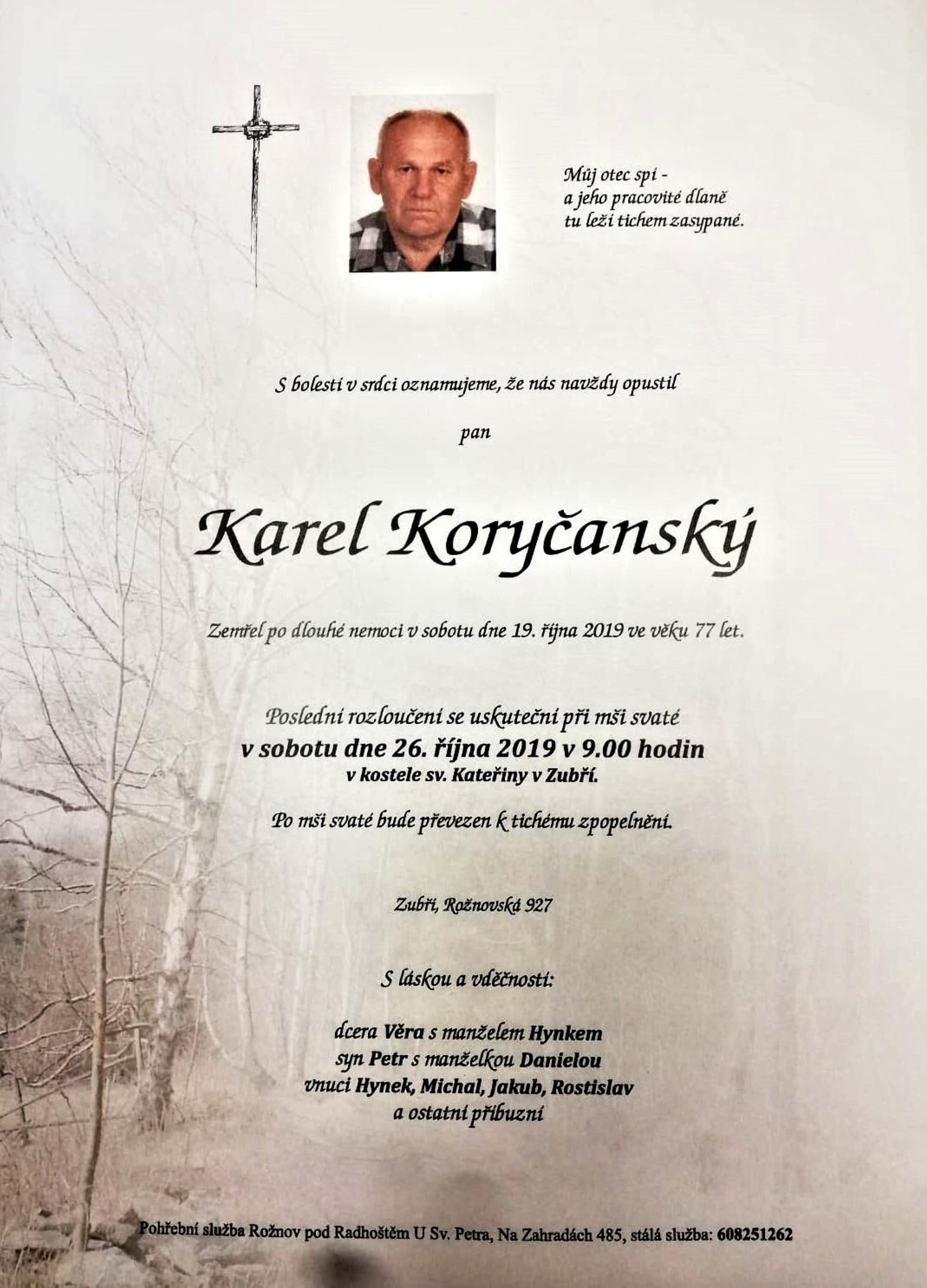 Karel Koryčanský