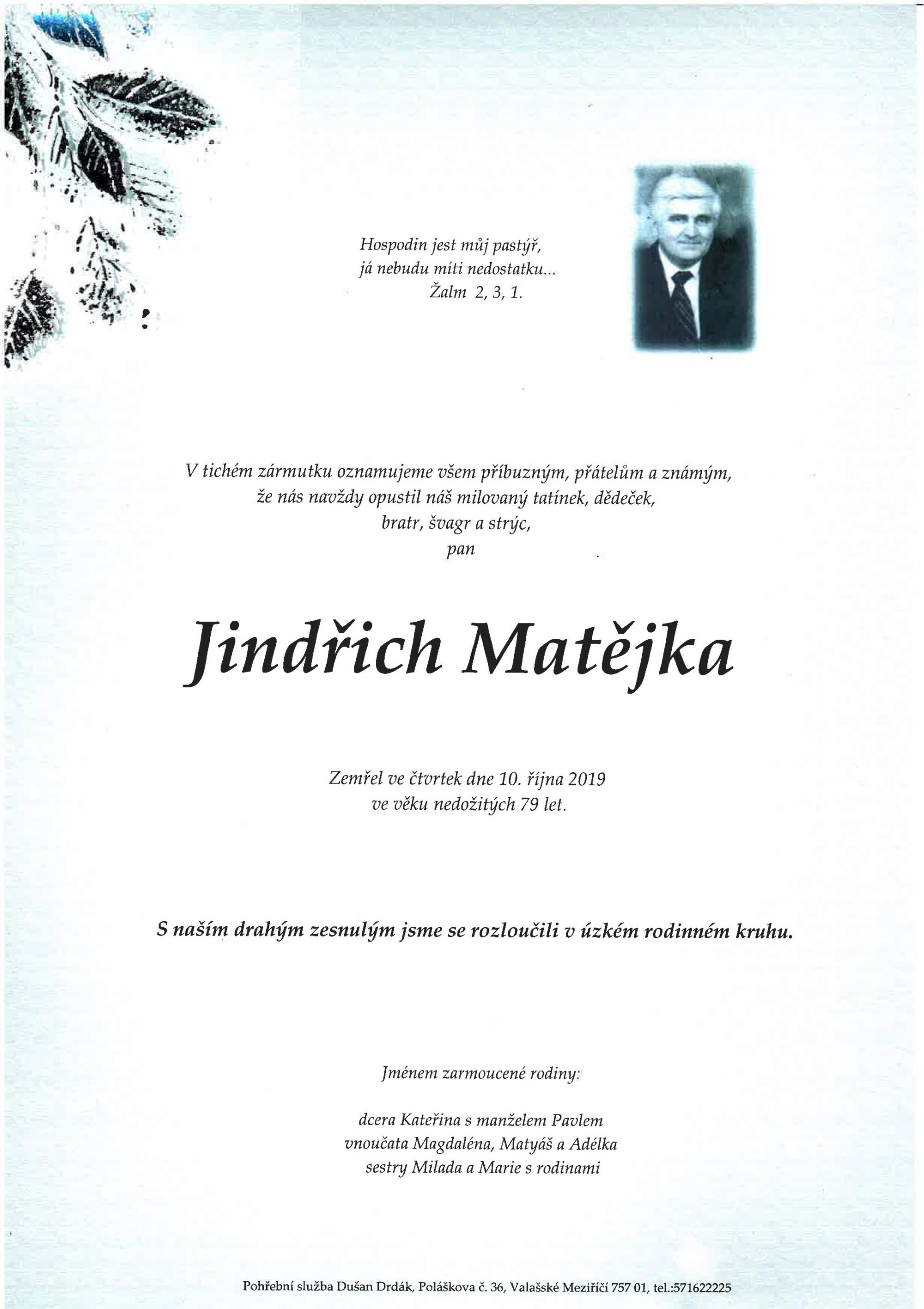 Jindřich Matějka
