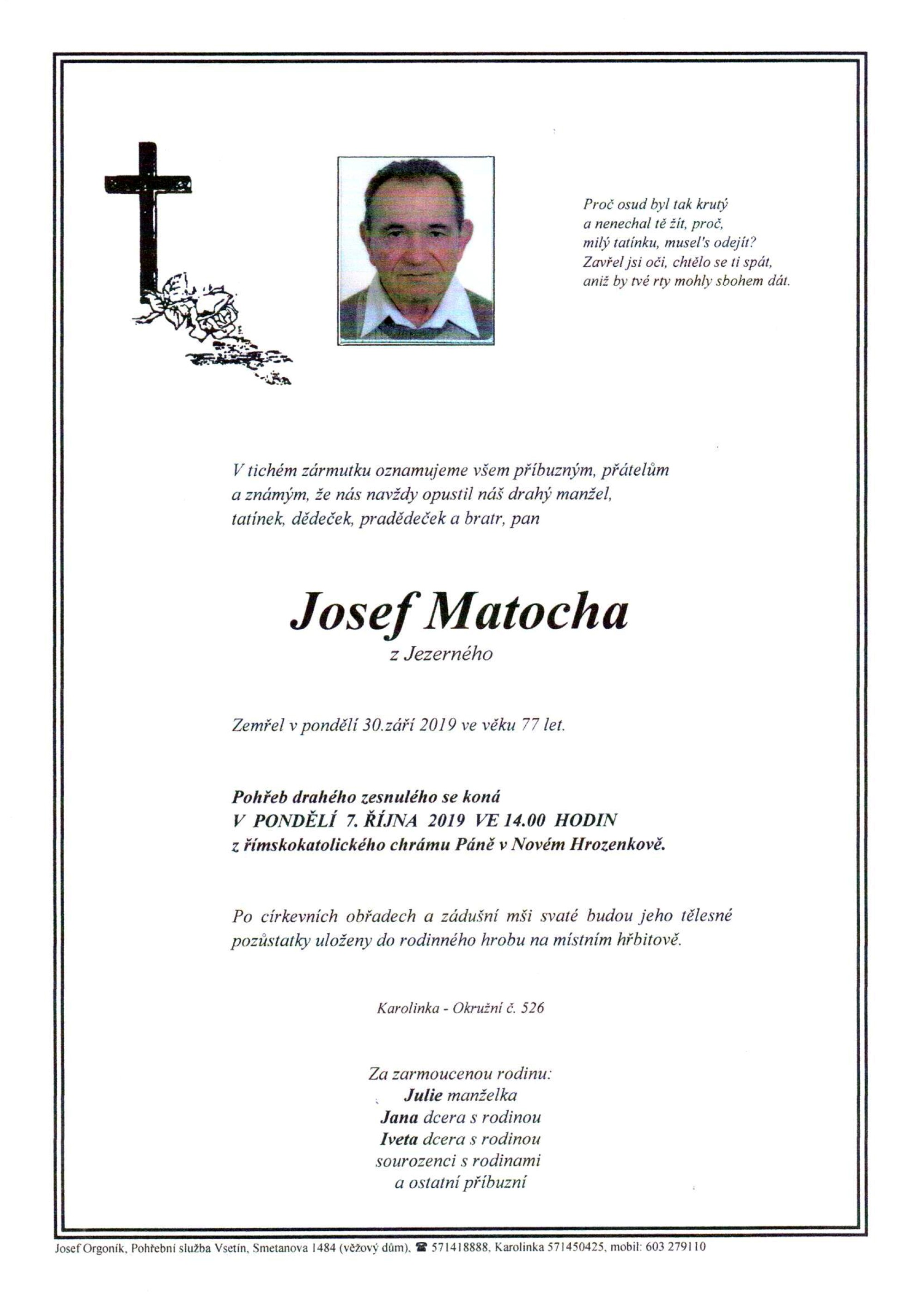 Josef Matocha