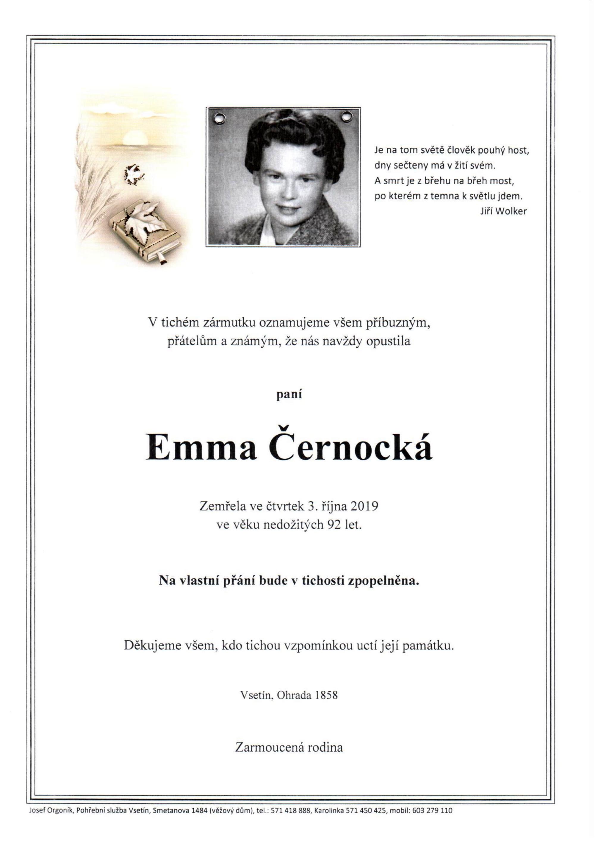 Emma Černocká