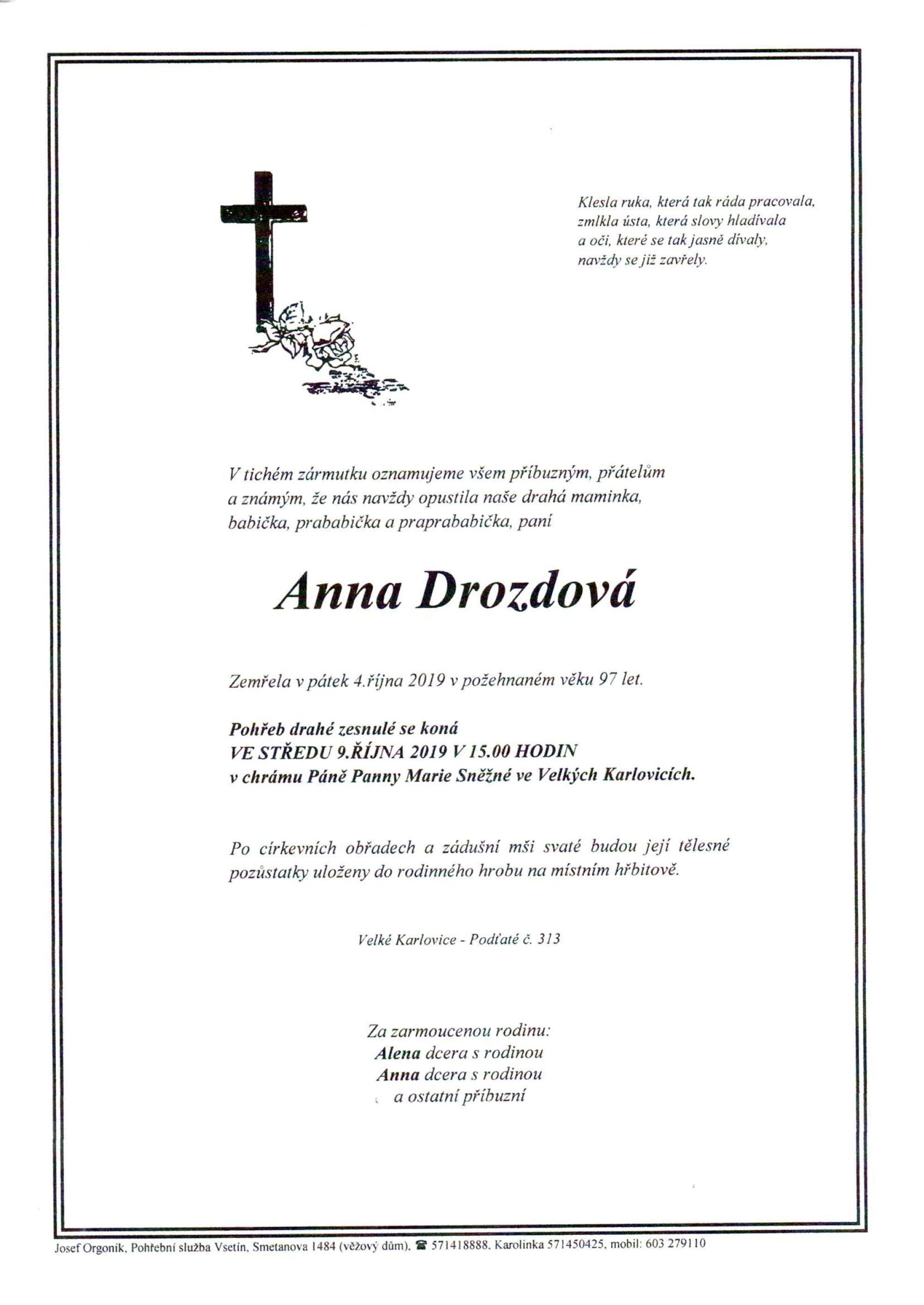 Anna Drozdová