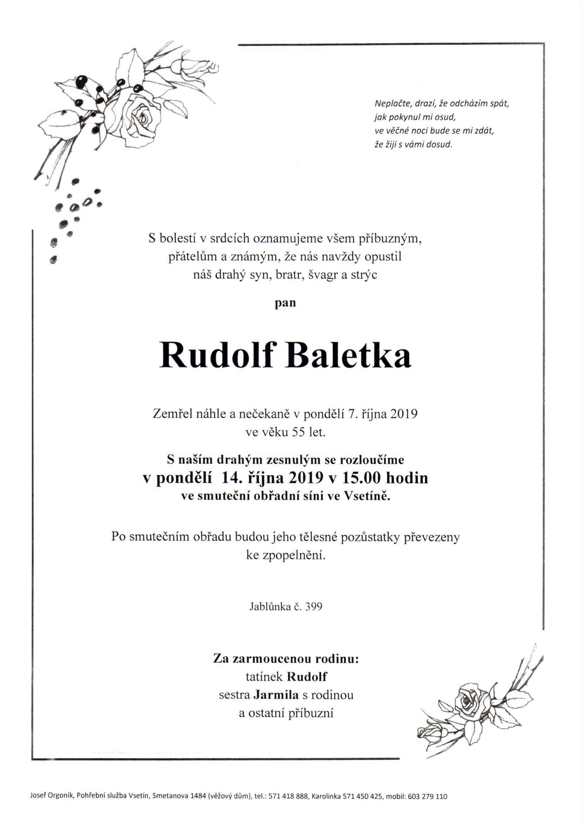 Rudolf Baletka