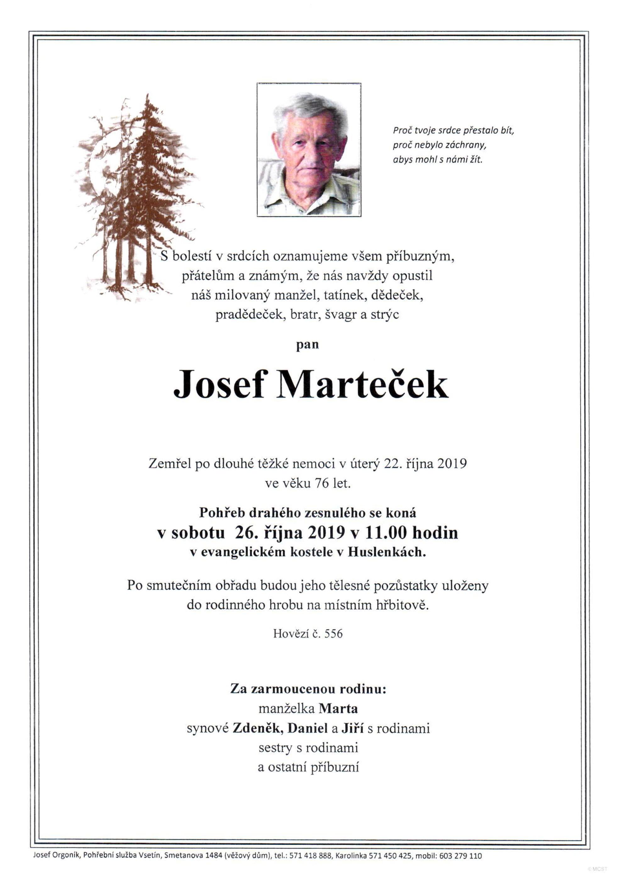 Josef Marteček