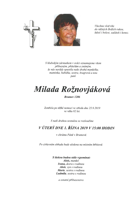 Milada Rožnovjáková