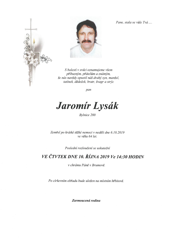 Jaromír Lysák