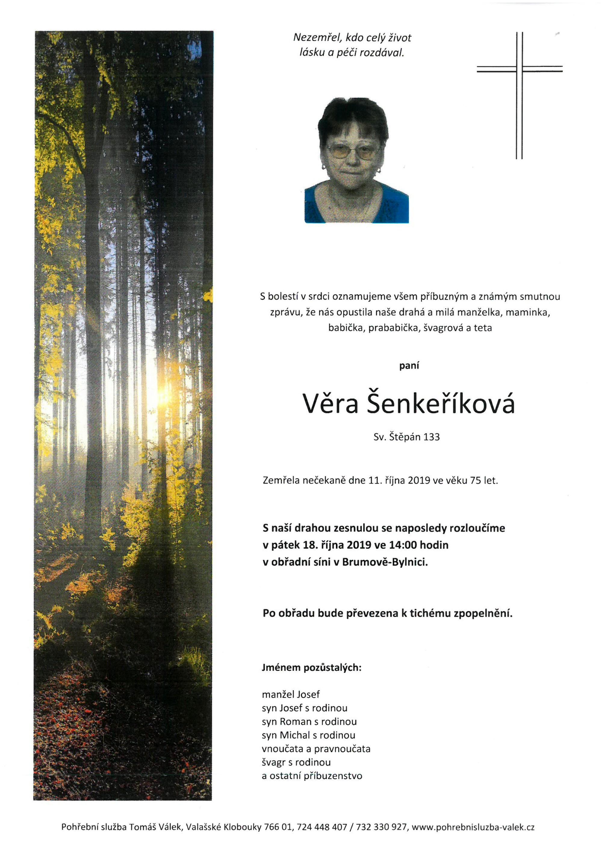 Věra Šenkeříková