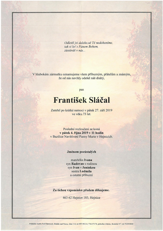 František Sláčal