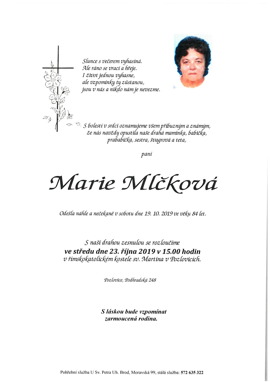 Marie Mlčková