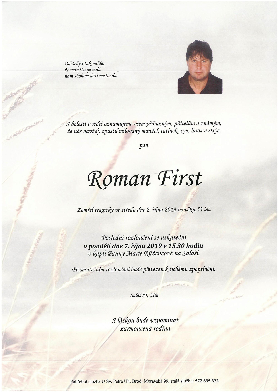 Roman First