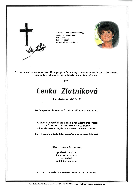 Lenka Zlatniková