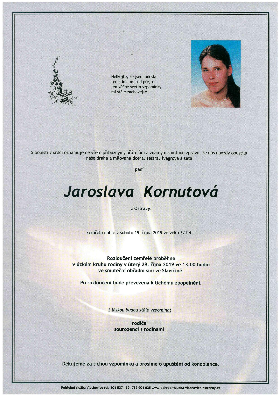 Jaroslava Kornutová