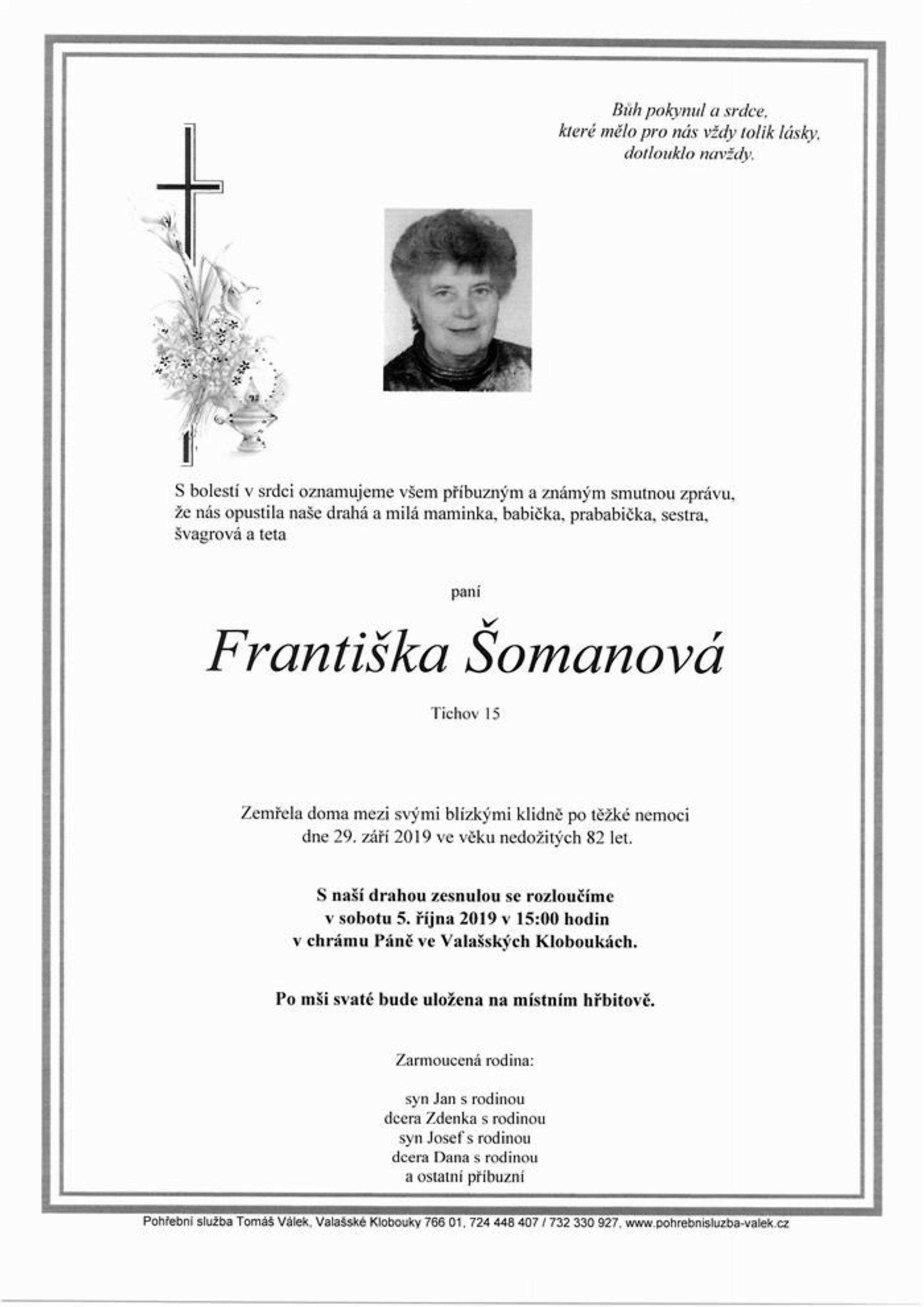 Františka Šomanová