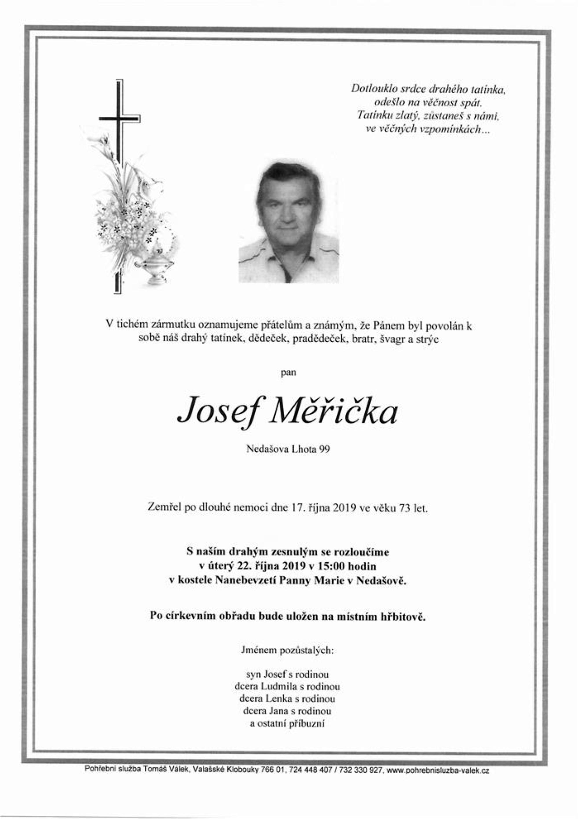 Josef Měřička