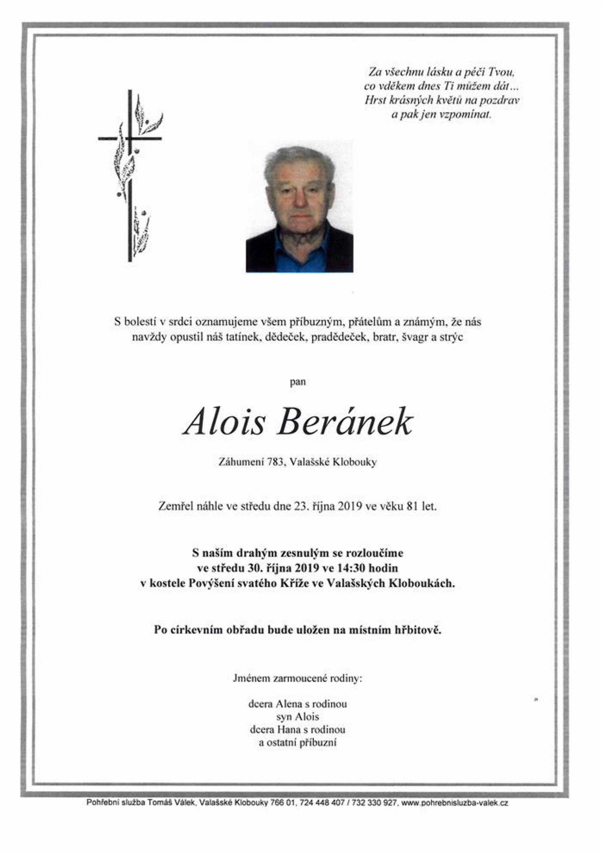 Alois Beránek