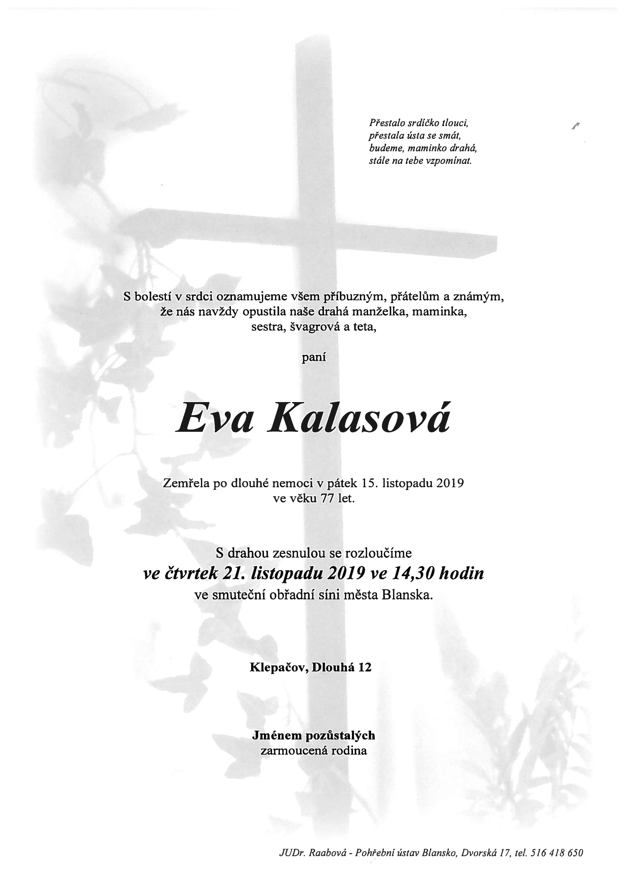 Eva Kalasová