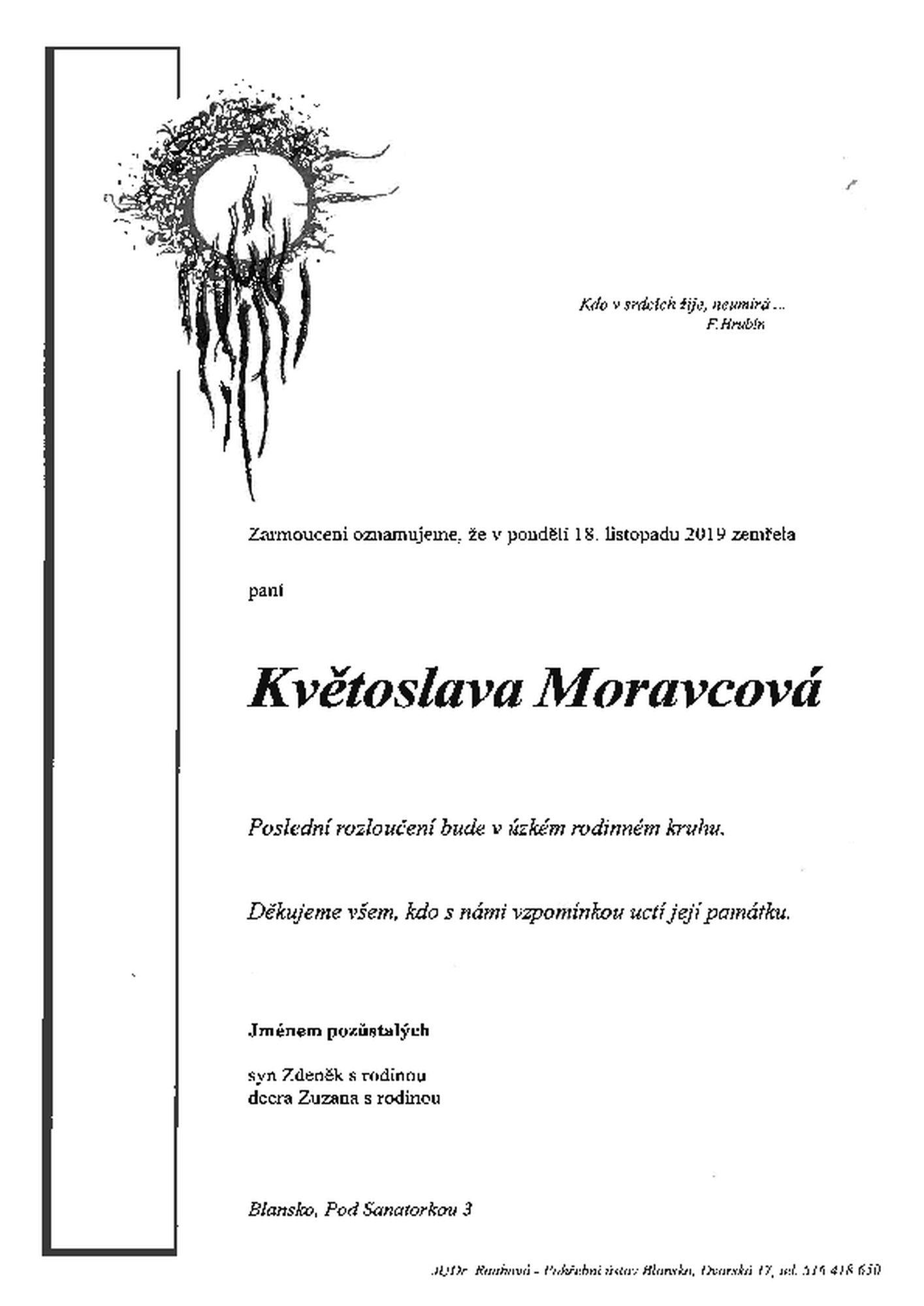 Květoslava Moravcová
